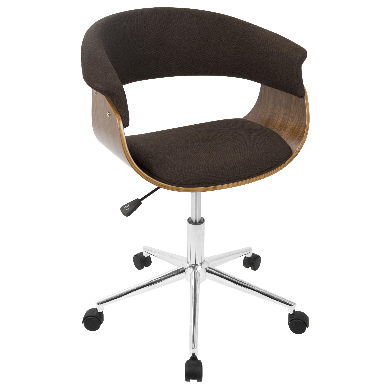 langley street jillian mid century modern desk chair