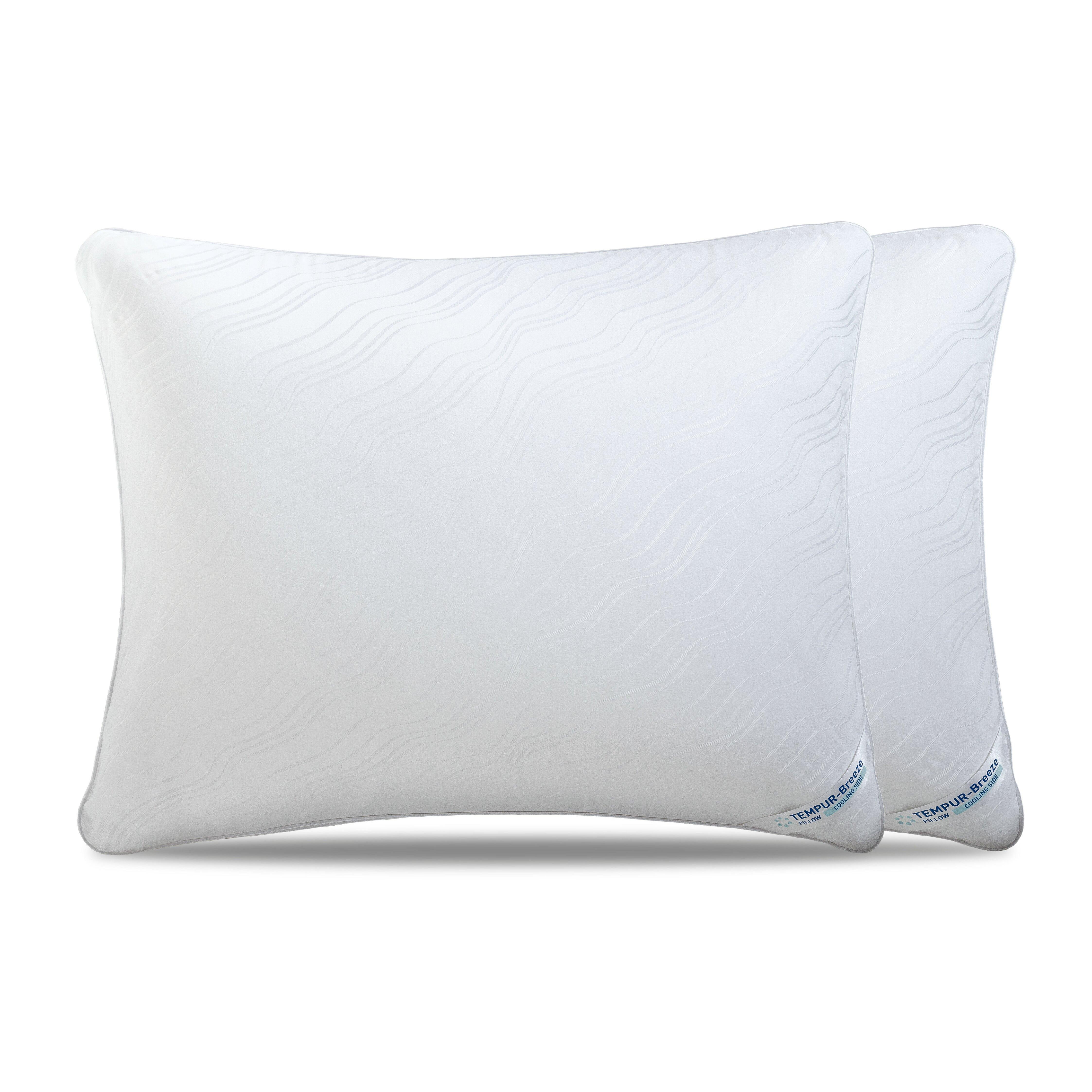 Tempur Traditional Memory Foam Pillow : Tempur-Pedic Breeze Memory Foam Pillow & Reviews Wayfair
