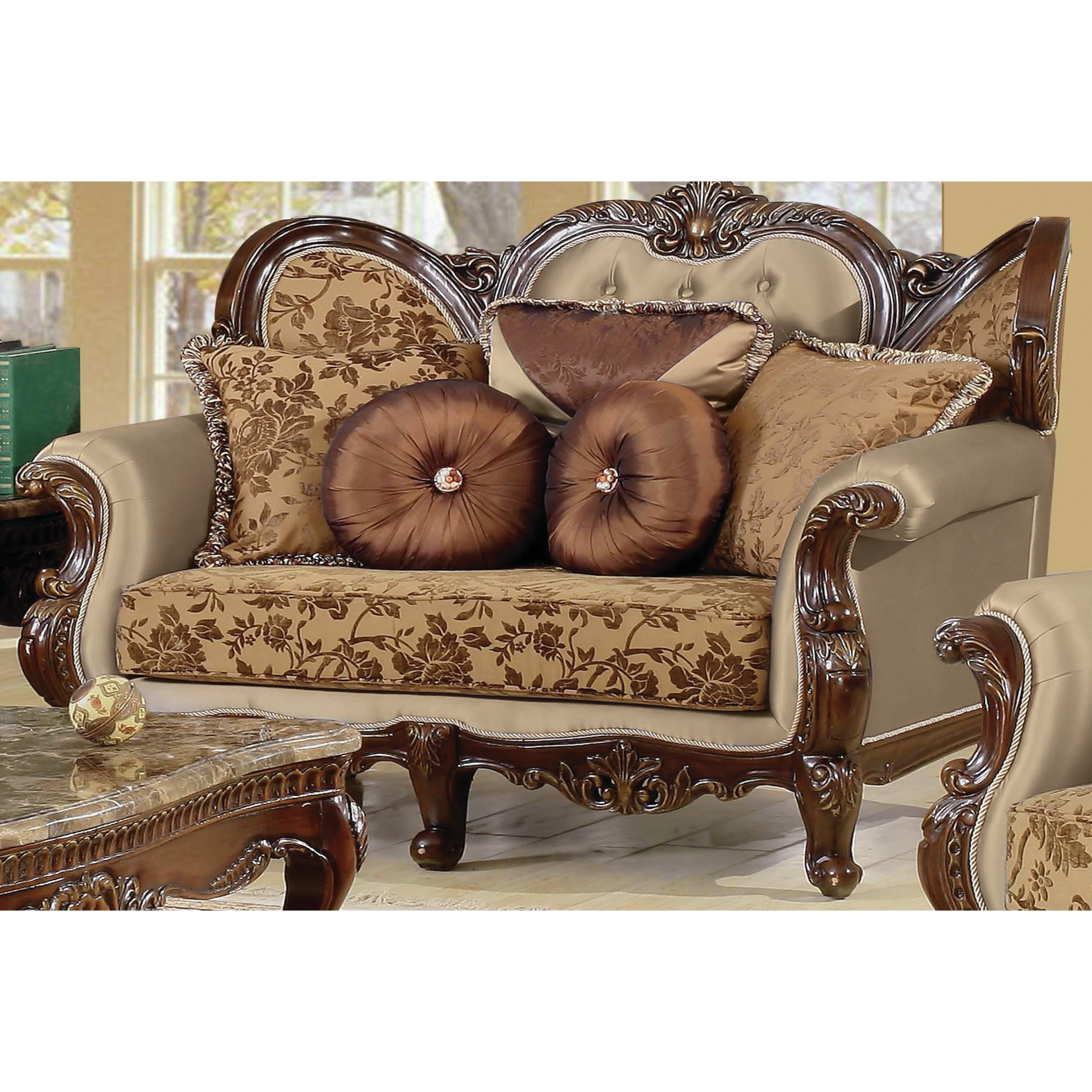 Three Piece Living Room Set Bestmasterfurniture Jenna 3 Piece Traditional Living Room Set