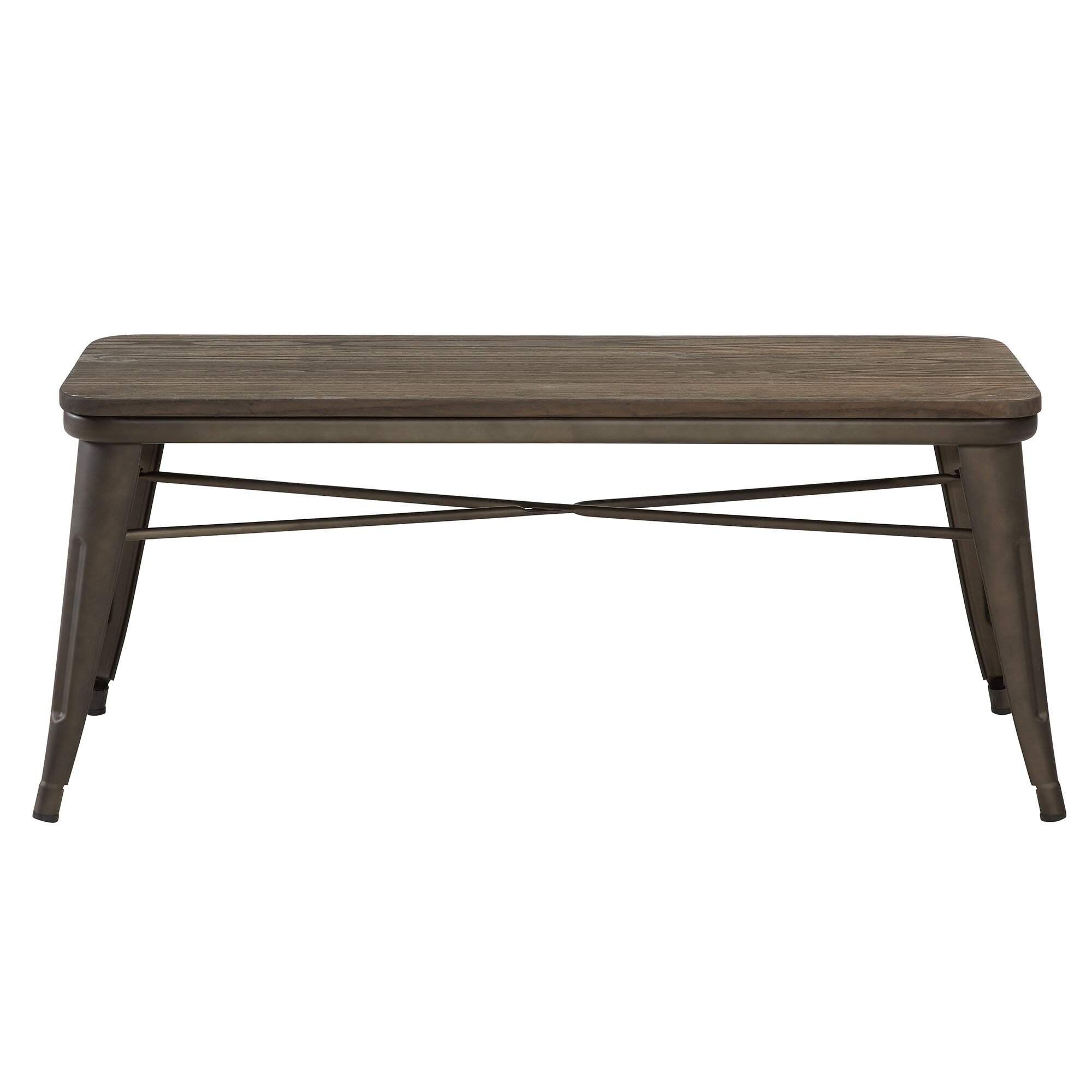metal dining bench  gallery image lautarii - previousnext