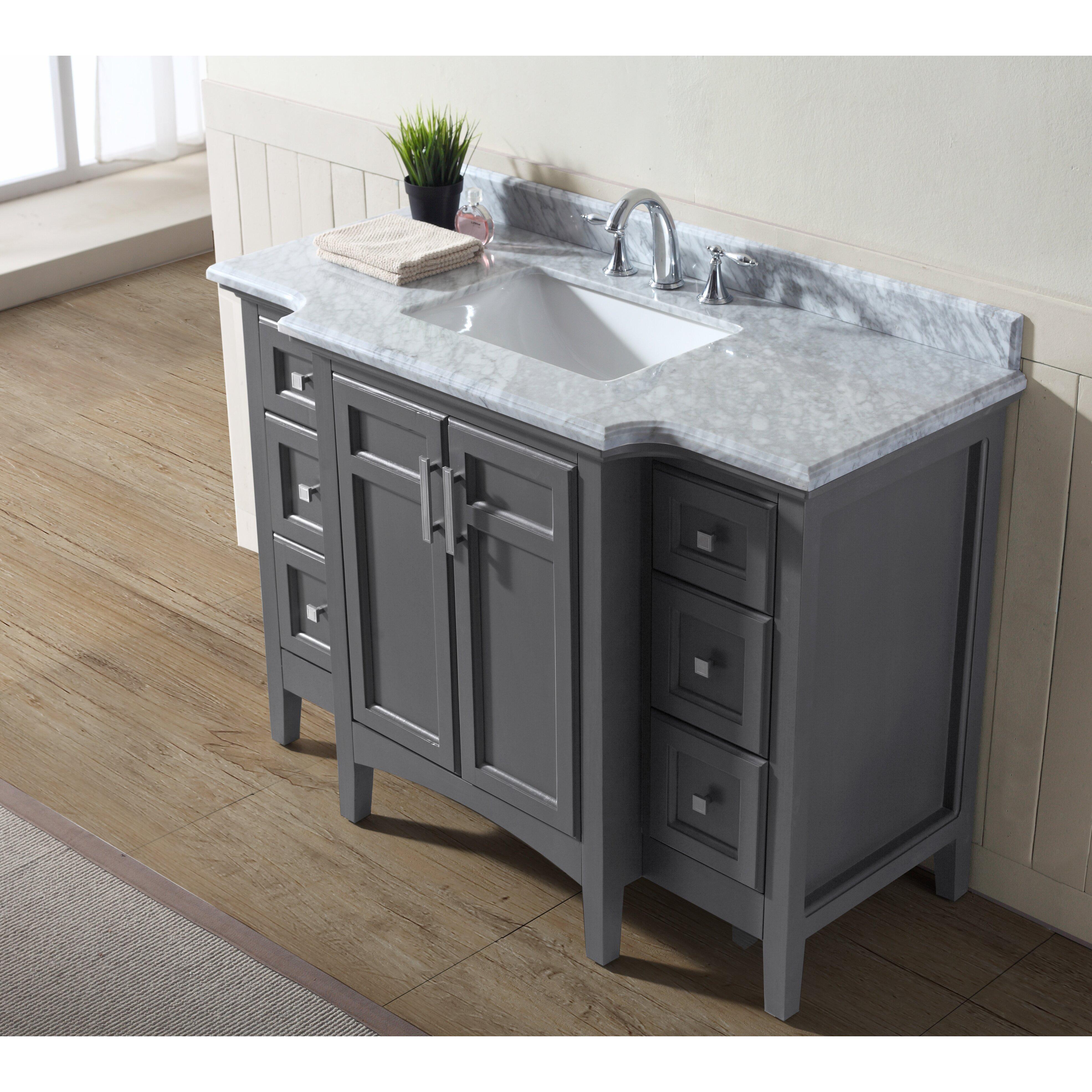 8418549d276 48 Bathroom Vanity With Granite Top Stainless Steel Bathroom Vanity Cabinet  47 Inch Bathroom Vanity 600×600