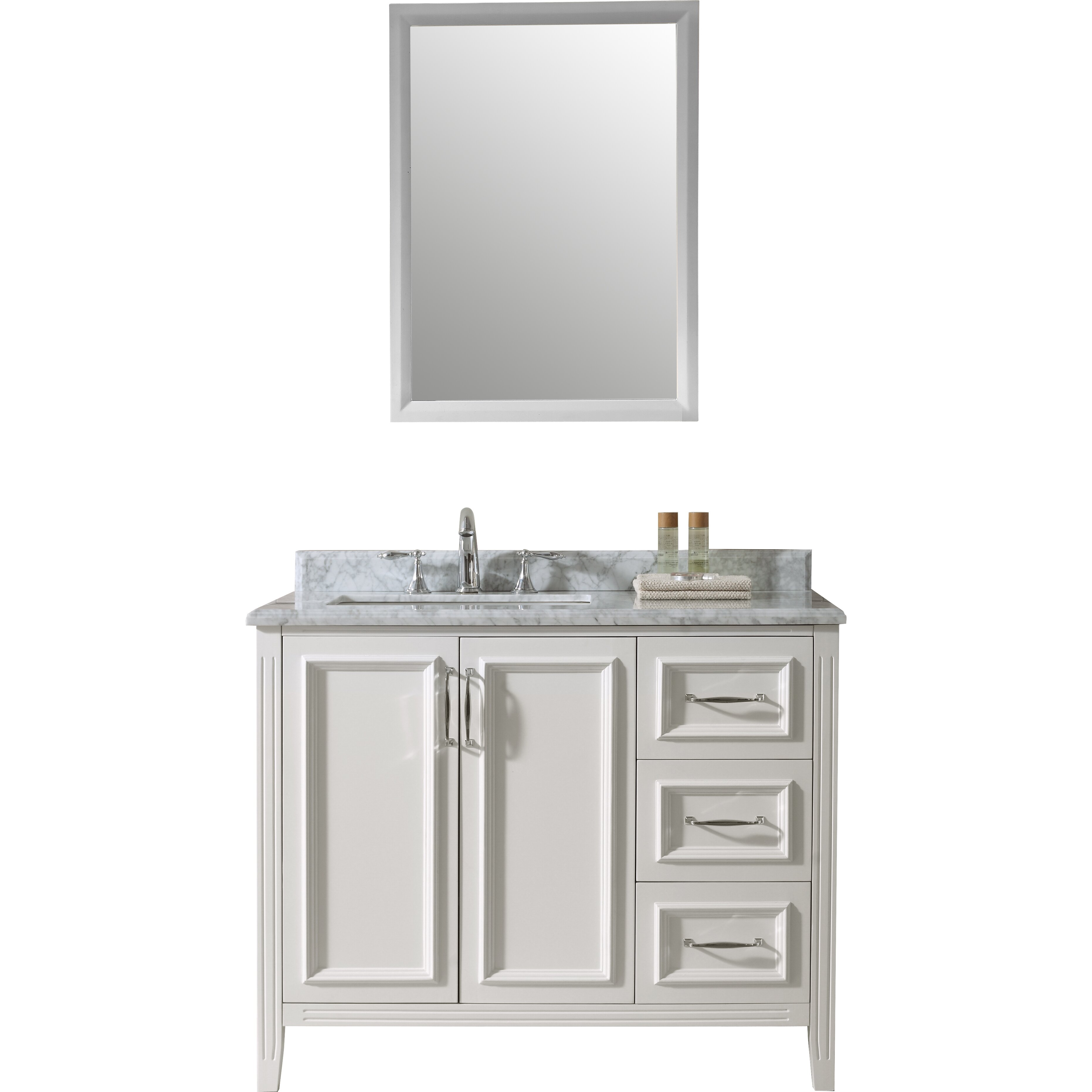 42 Bathroom Vanity Ari Kitchen Bath Jude 42 Single Bathroom Vanity Set Reviews