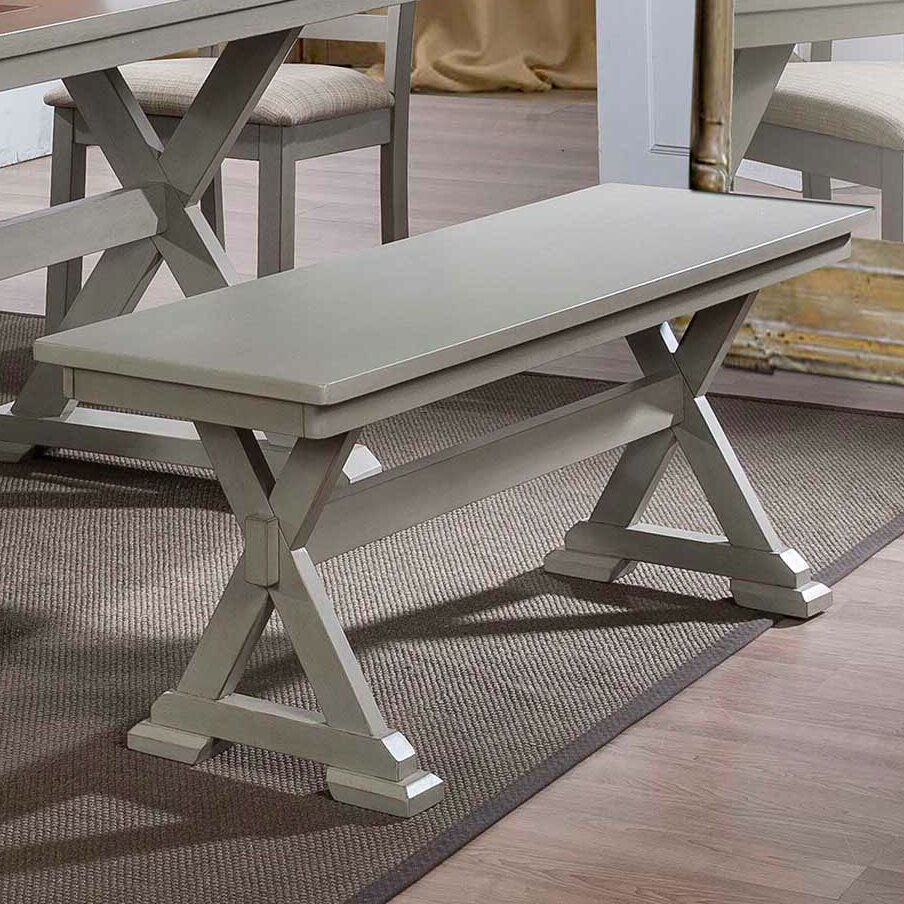 Lark Manor Lia Wood Kitchen Bench & Reviews
