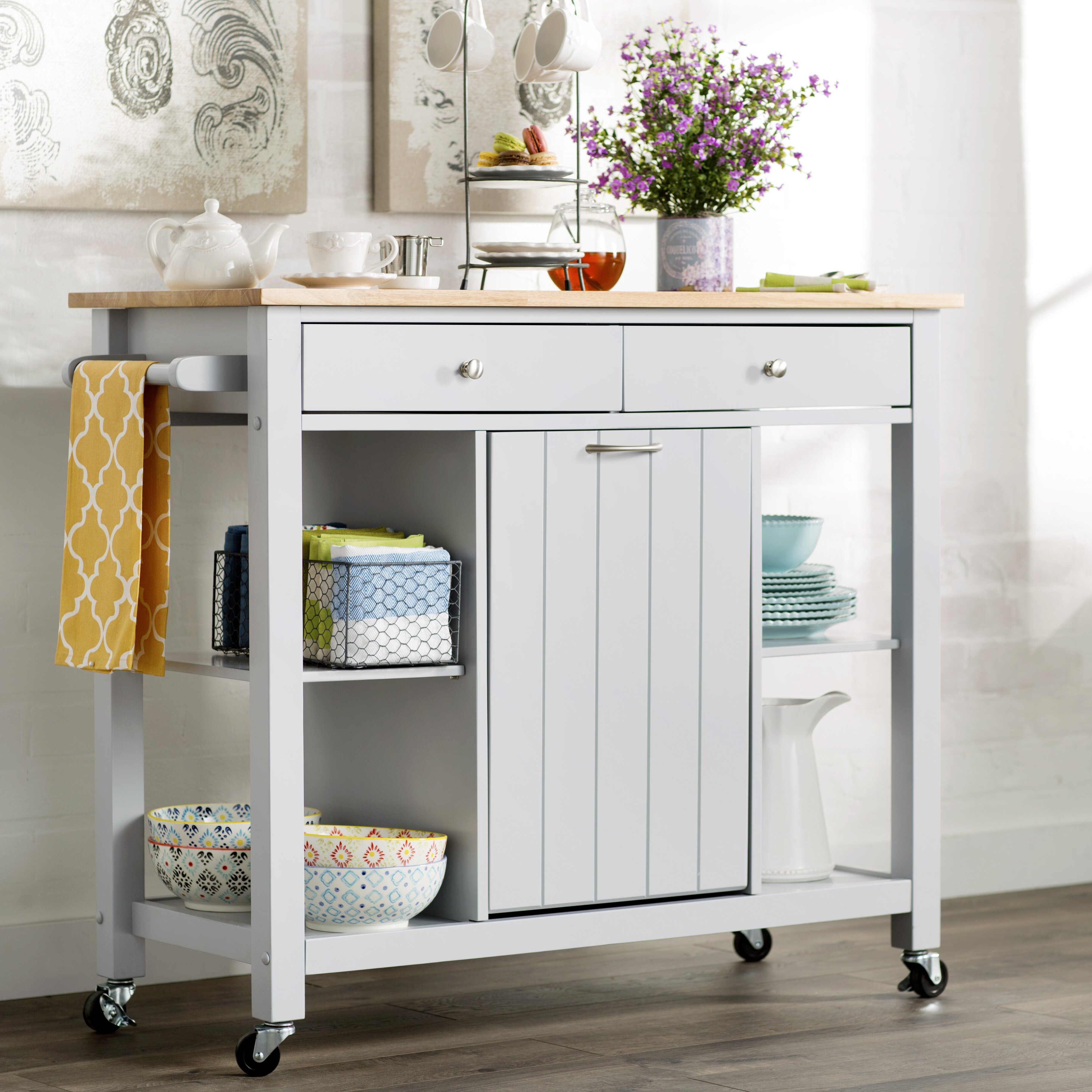 Kitchen Island Table On Wheels Kitchen Islands Carts Youll Love Wayfair