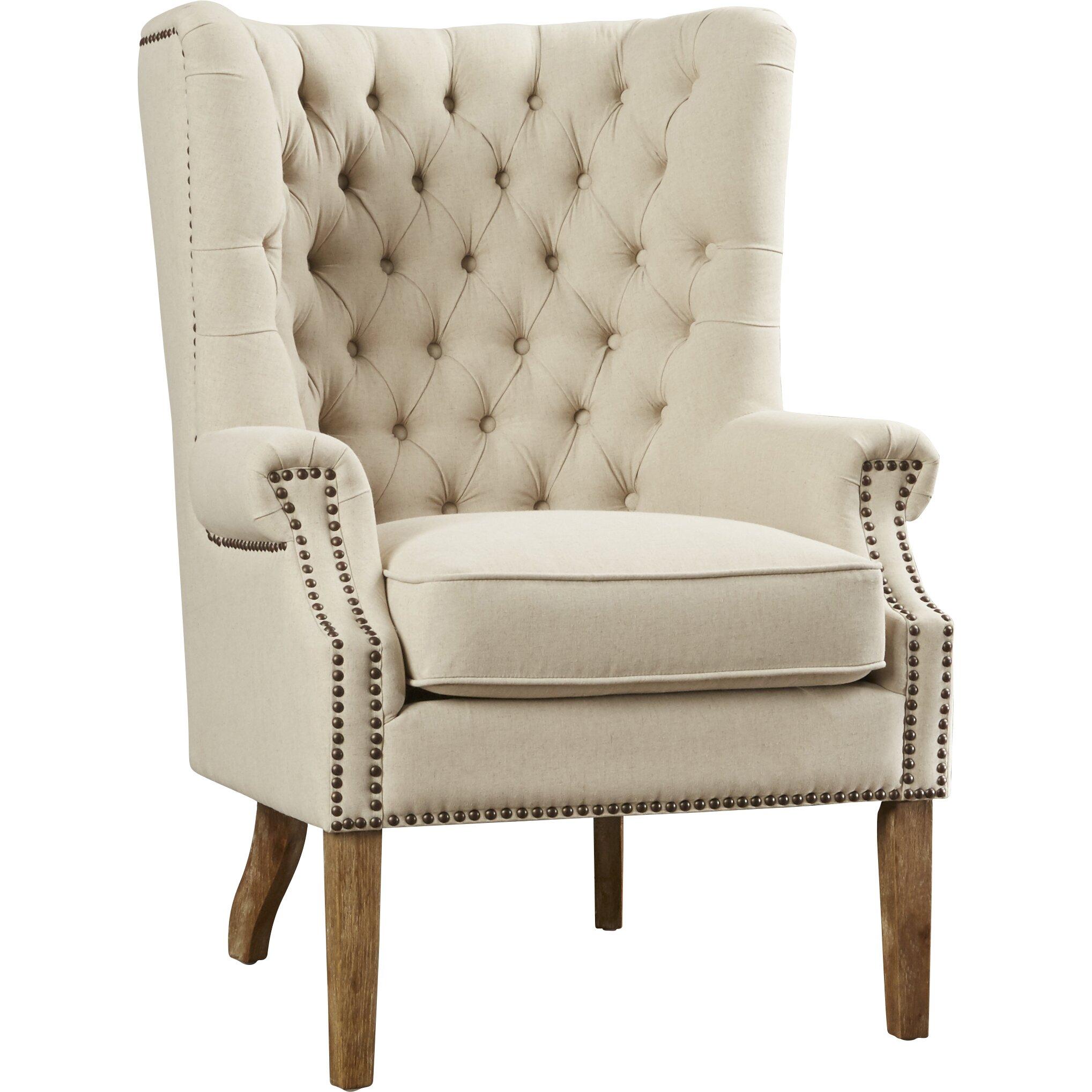 Lark manor lepore wingback arm chair amp reviews wayfair