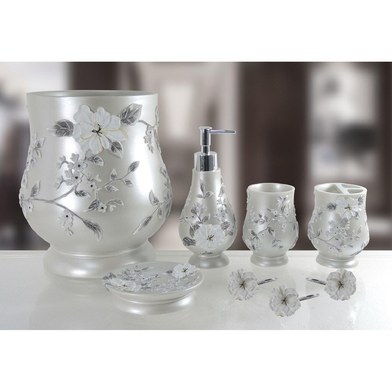 Daniels bath decorative melrose 5 piece bathroom accessory for Bathroom 5 piece set