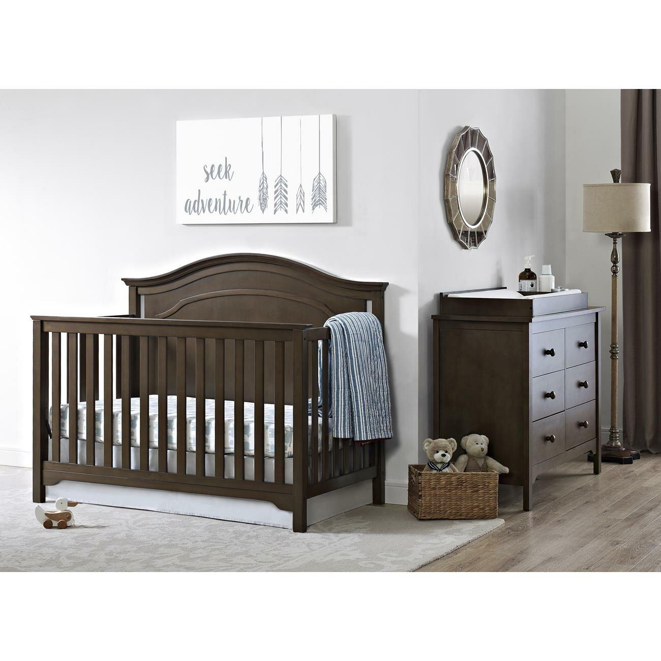 Emma iron crib for sale - Baby Relax Eddie Bauer Hayworth 4 In 1 Convertible Crib