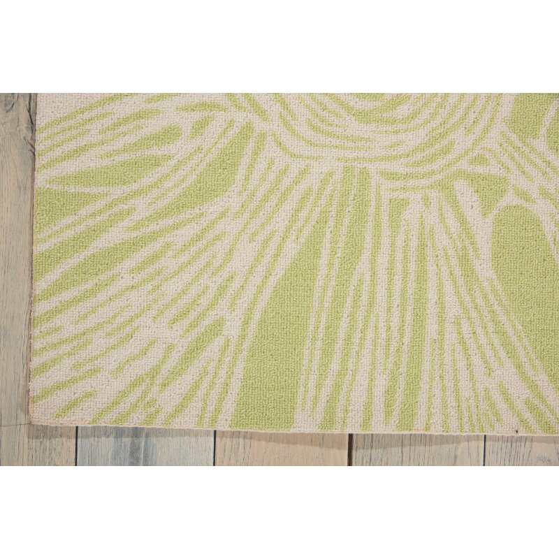 Nourison Home & Garden Ivory Indoor Outdoor Area Rug