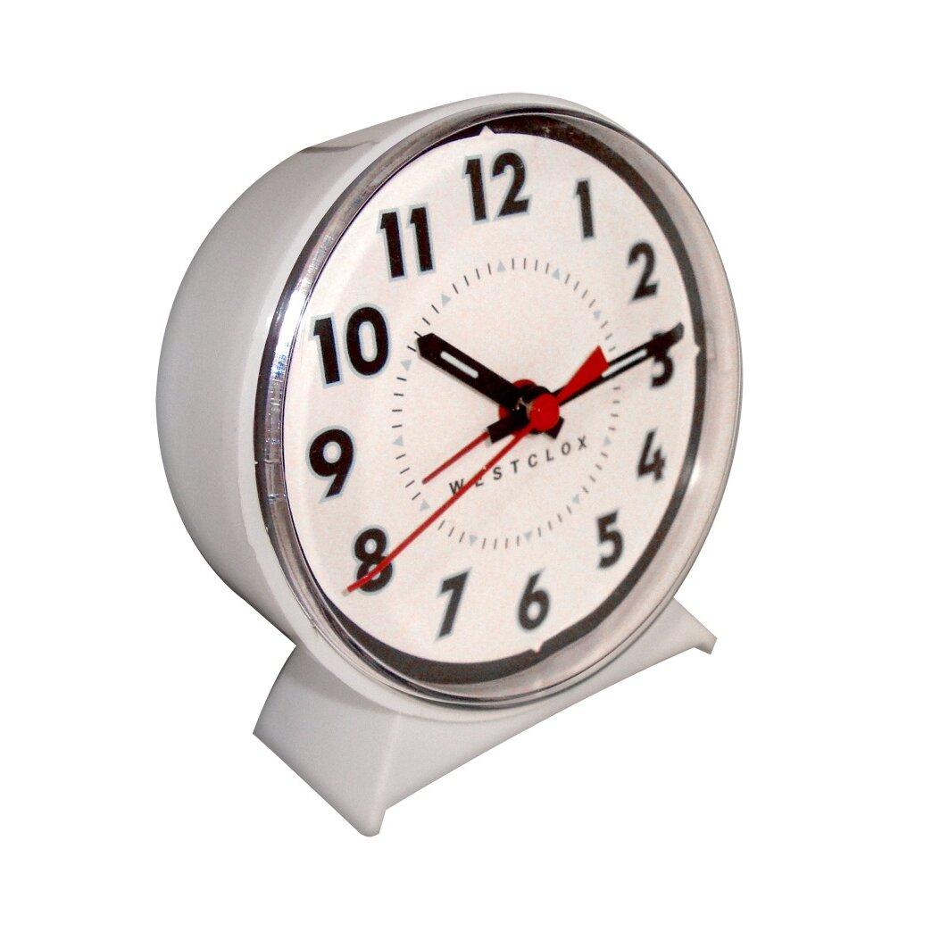 Westclox Wind Up Alarm Clock Amp Reviews Wayfair