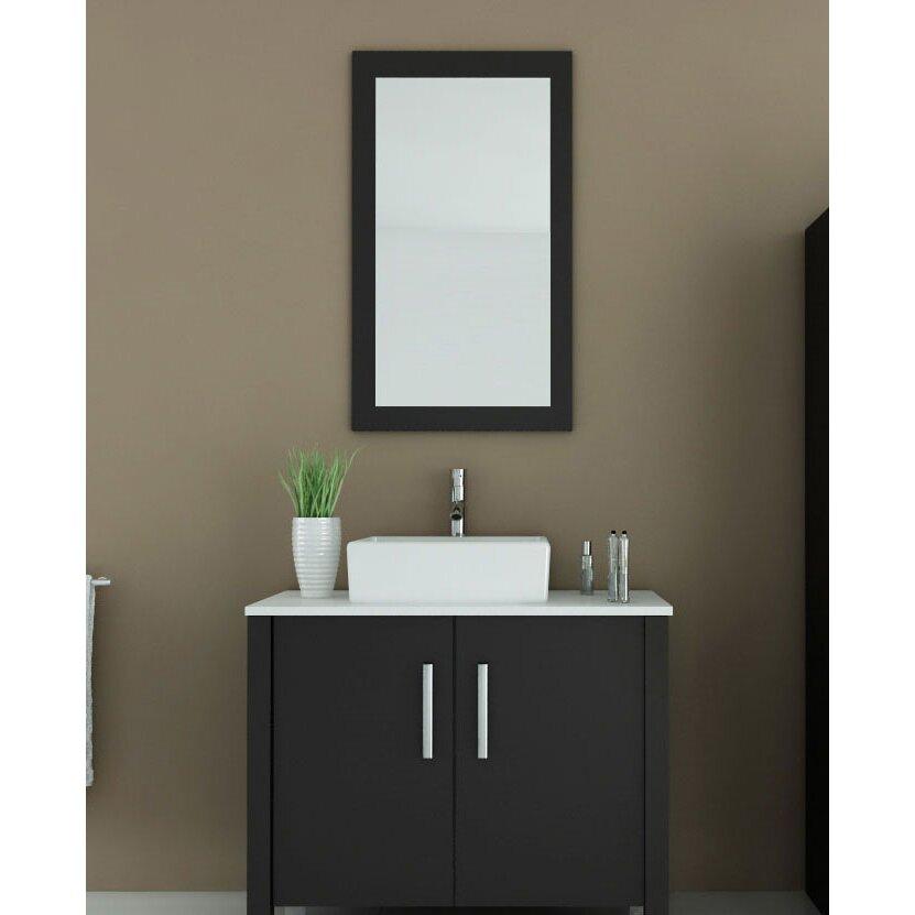 Jwh Living Gemini 35 5 Single Bathroom Vanity Set Reviews Wayfair