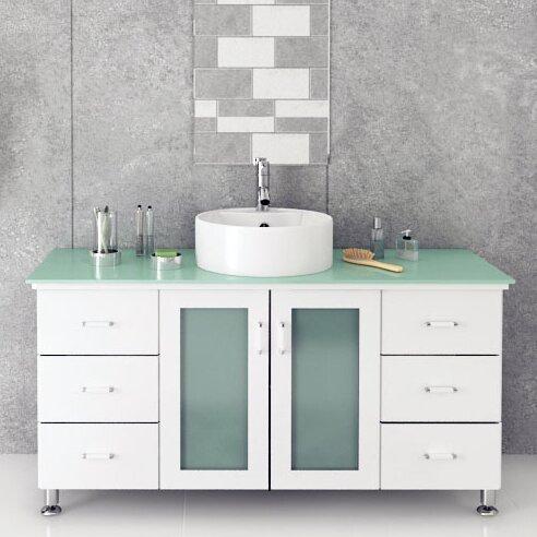 Jwh Living Grand Lune 47 Single Vessel Modern Bathroom Vanity Set Reviews