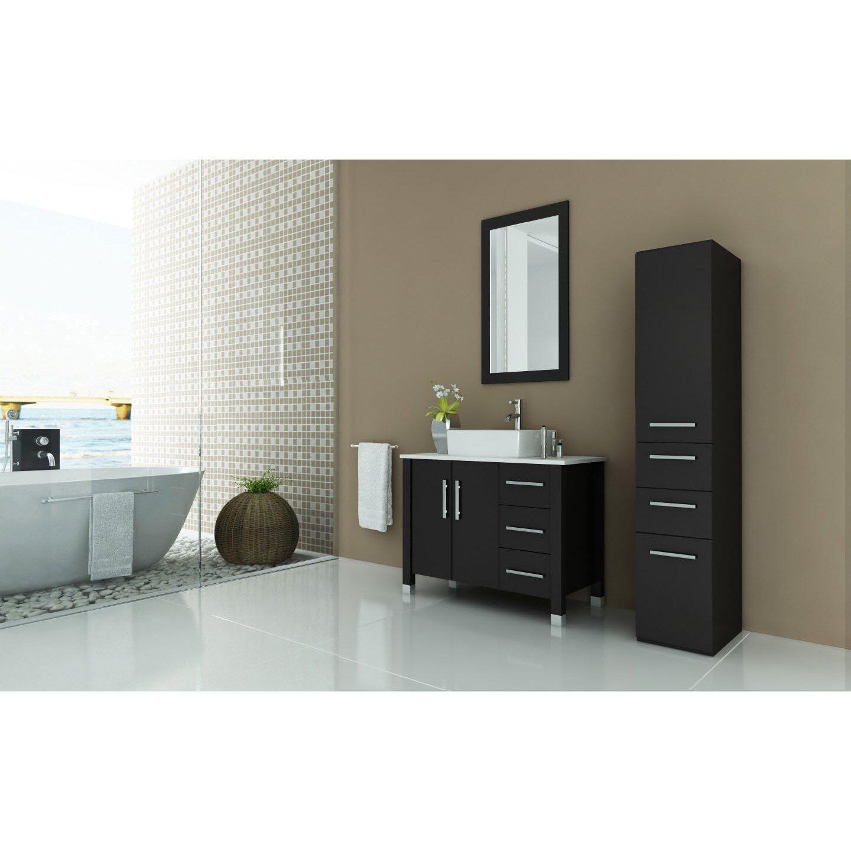 Designer Bathroom Accessories Sets Jwh Living Crater 395 Single Modern Bathroom Vanity Set