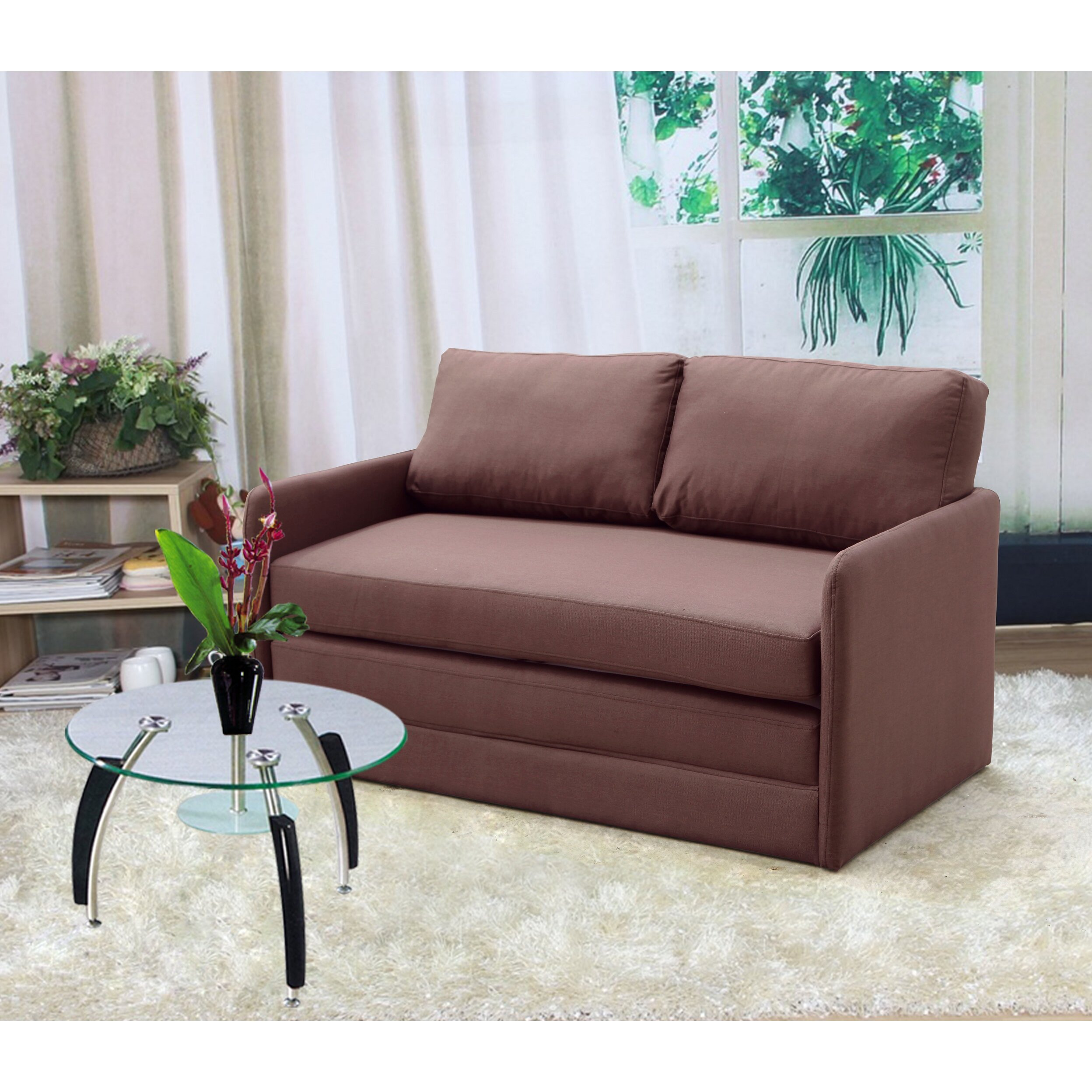 Container Reversible Sleeper Loveseat & Reviews