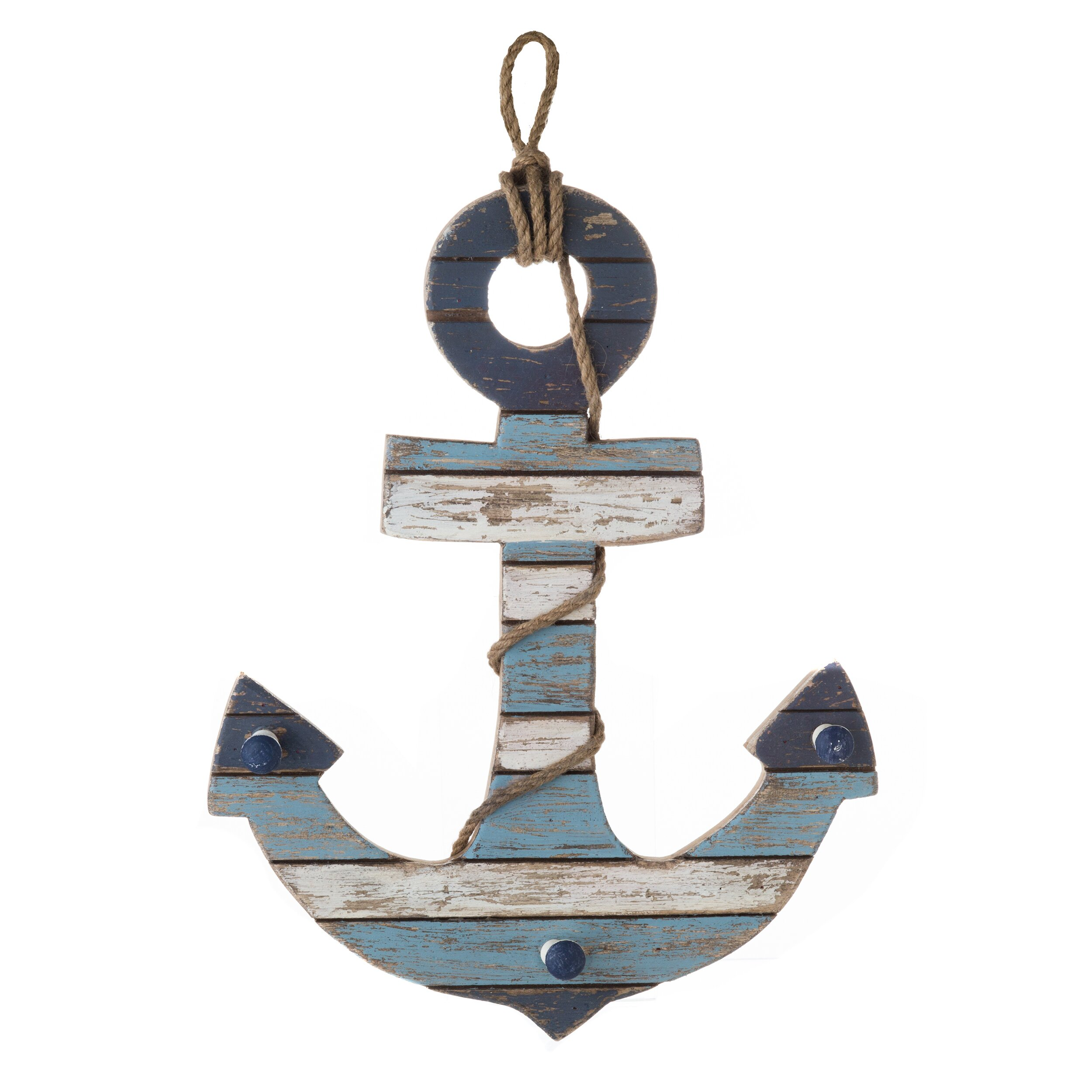 Prinz Home Port Wood Anchor Wall Du0026eacute;cor