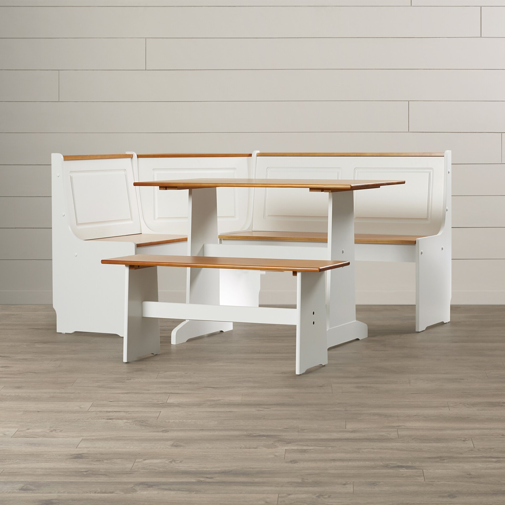 Nook Dining Set kitchen small space hack nook dining breakfast set ...