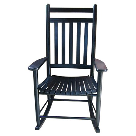 Outdoor Patio Furniture ... Wood Patio Rocking Chairs & Gliders Dixie ...