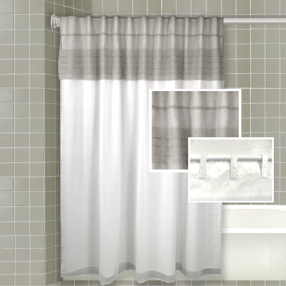 One Allium Way Merle AllinOne Shower Curtain  Reviews Wayfair - Shower curtain