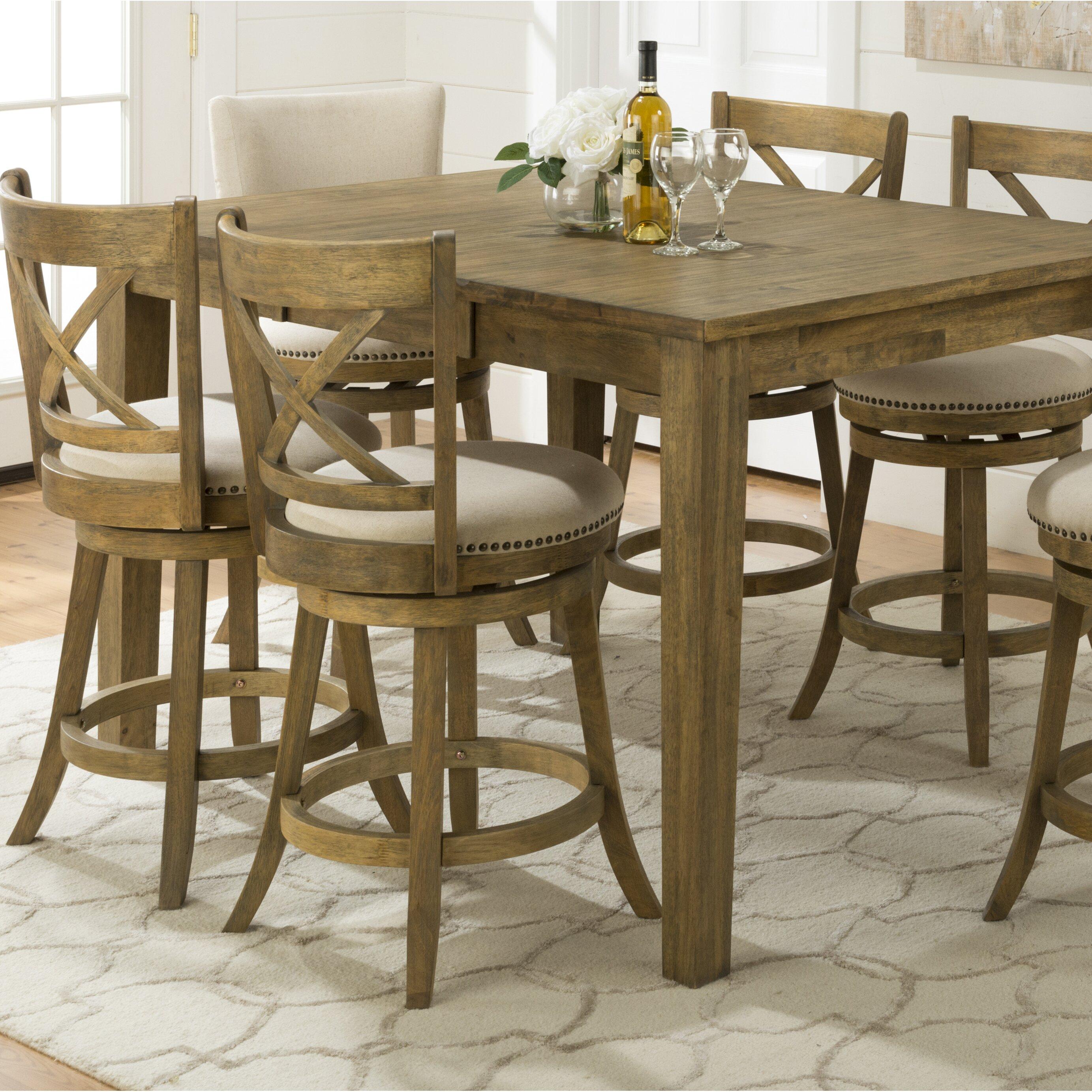 one allium way baptiste counter height pub table reviews wayfair. Black Bedroom Furniture Sets. Home Design Ideas