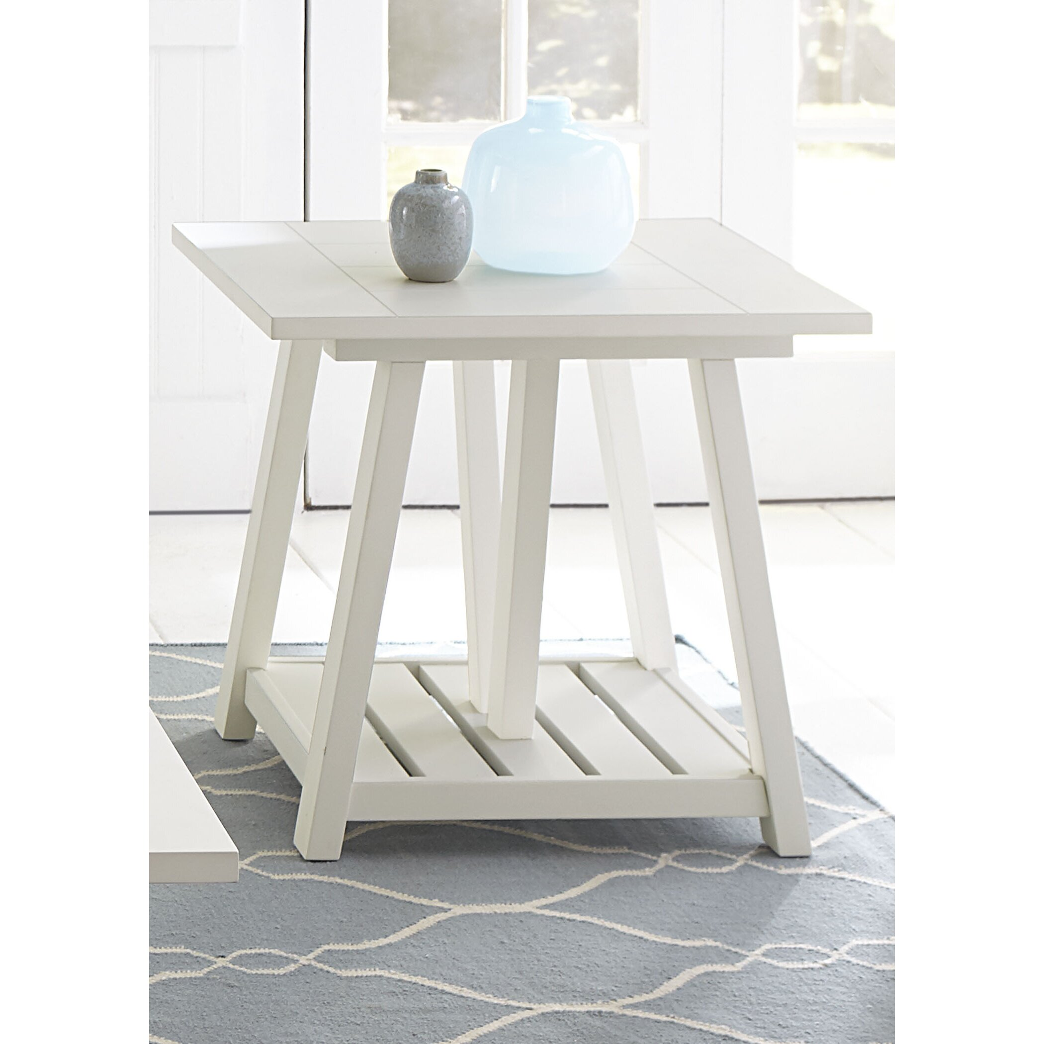 green end table - beachcrest home kendall green end table wayfair