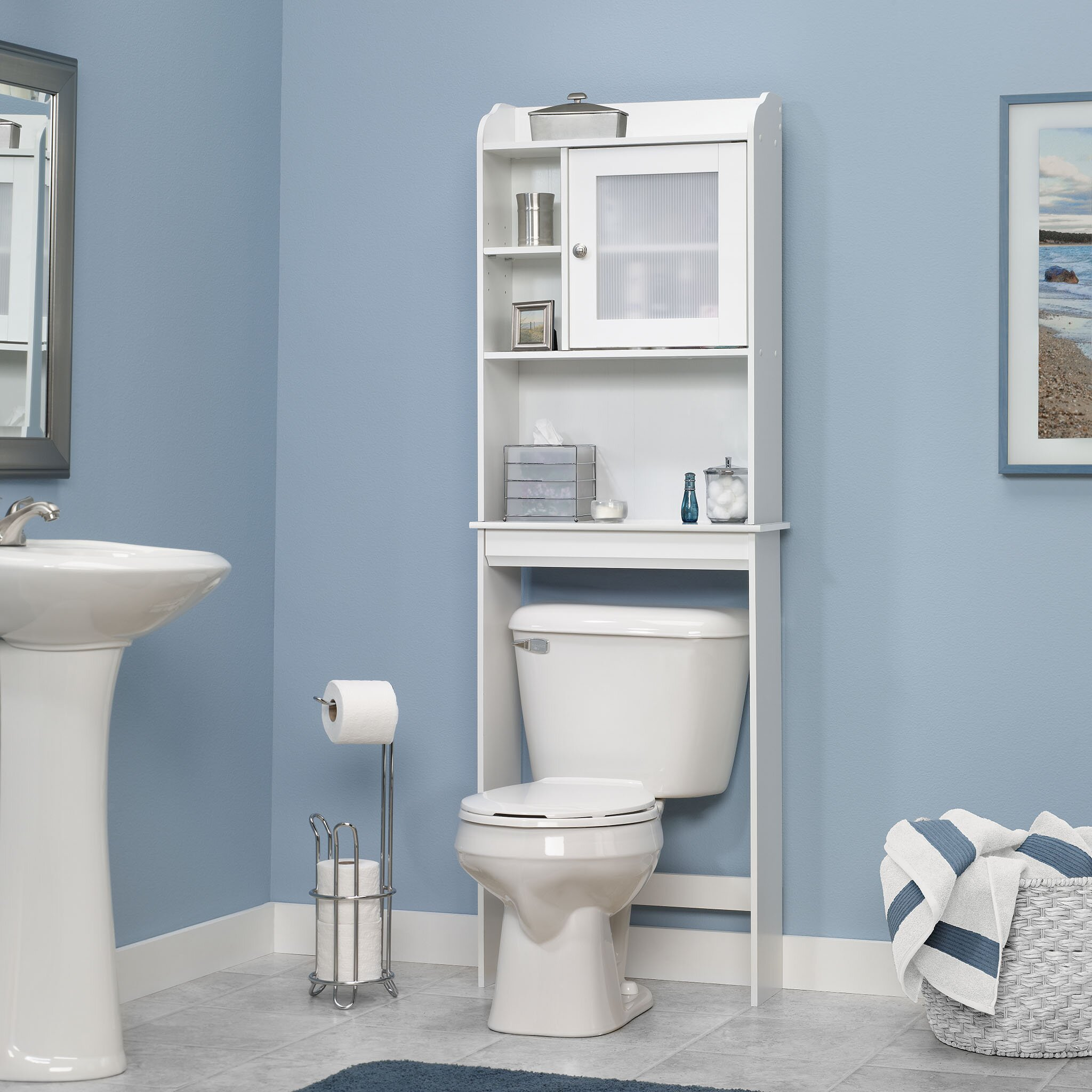 Over The Toilet Storage Cabinets Bathroom Etagere Wayfairca. Best Image of Over The Toilet Storage Cabinet   All Can Download