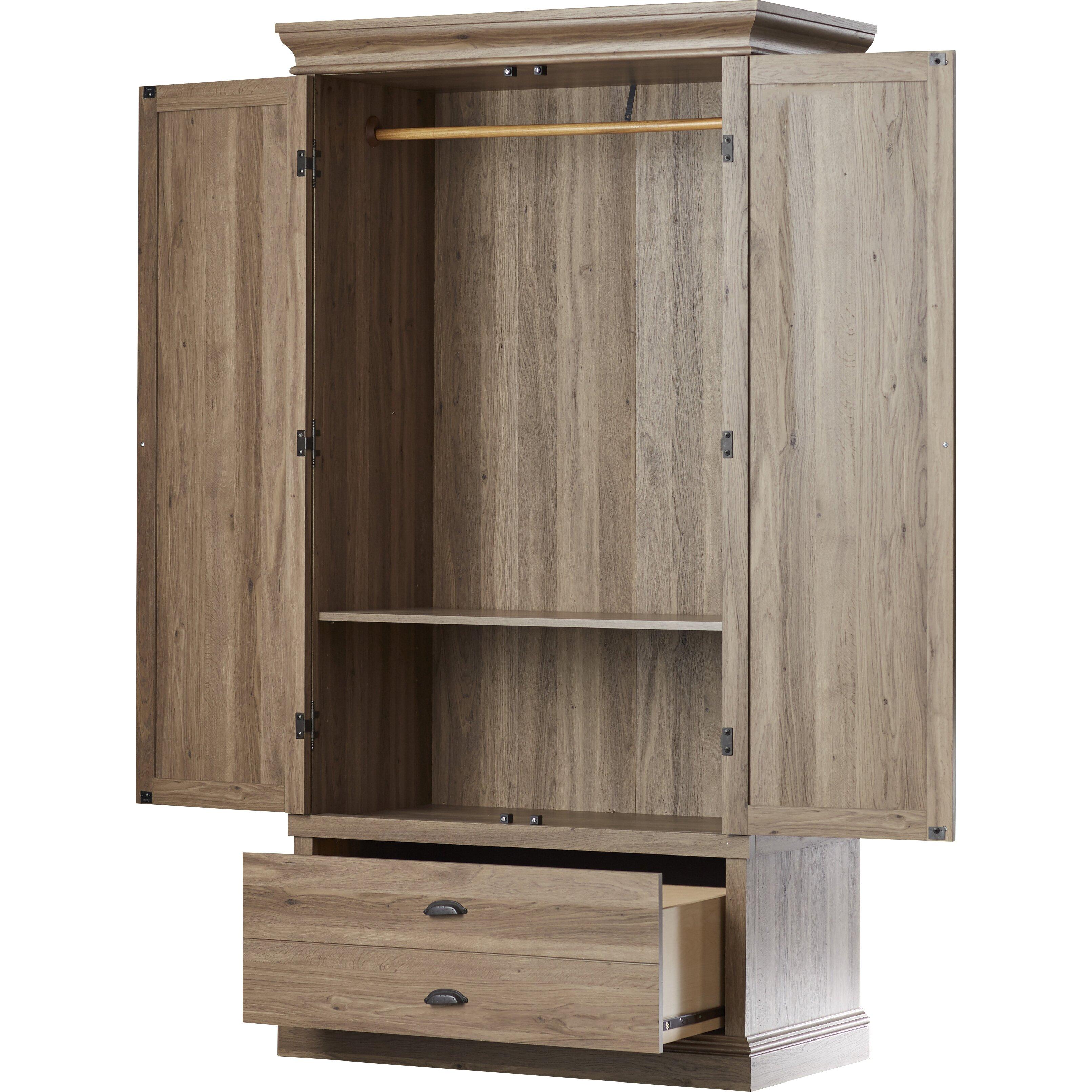 beachcrest home bowerbank bedroom armoire & reviews | wayfair