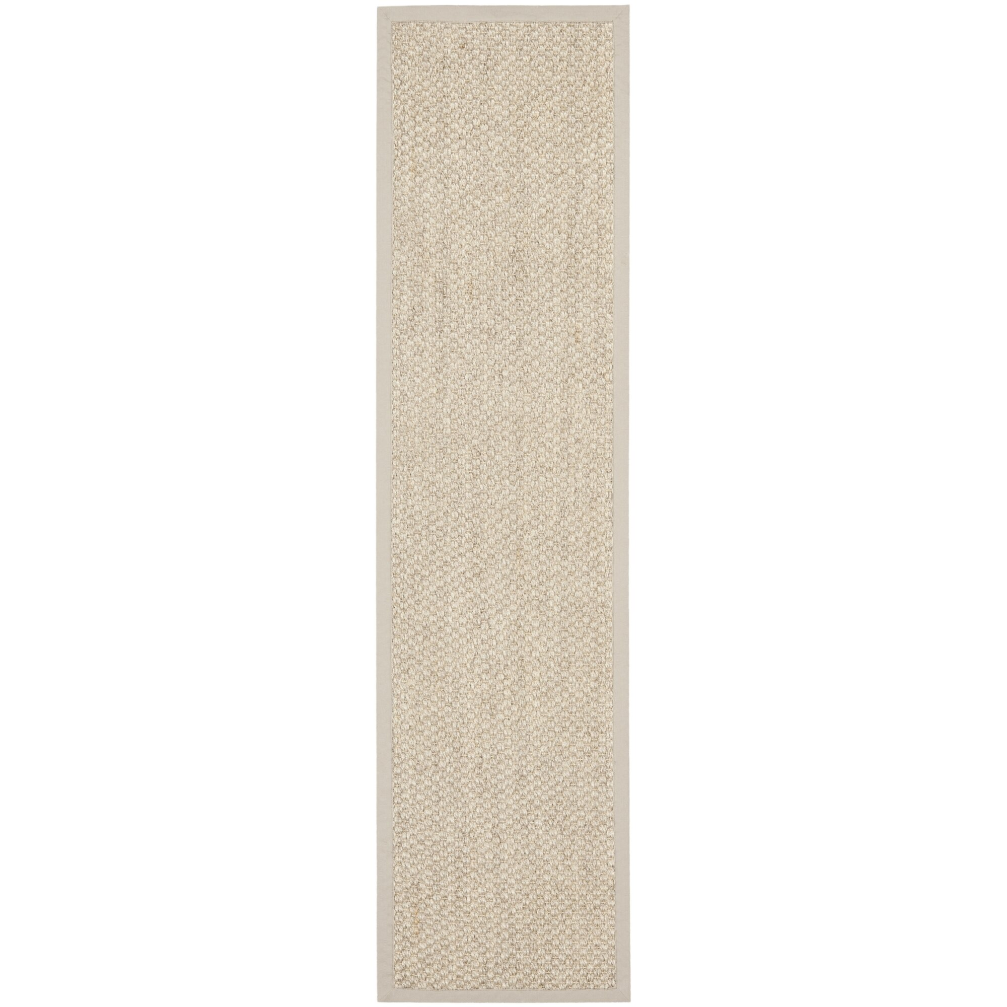 Sisal Runner White Kitchen With Carrara Marble Brass: Richmond Sisal Marble Indoor Area Rug & Reviews