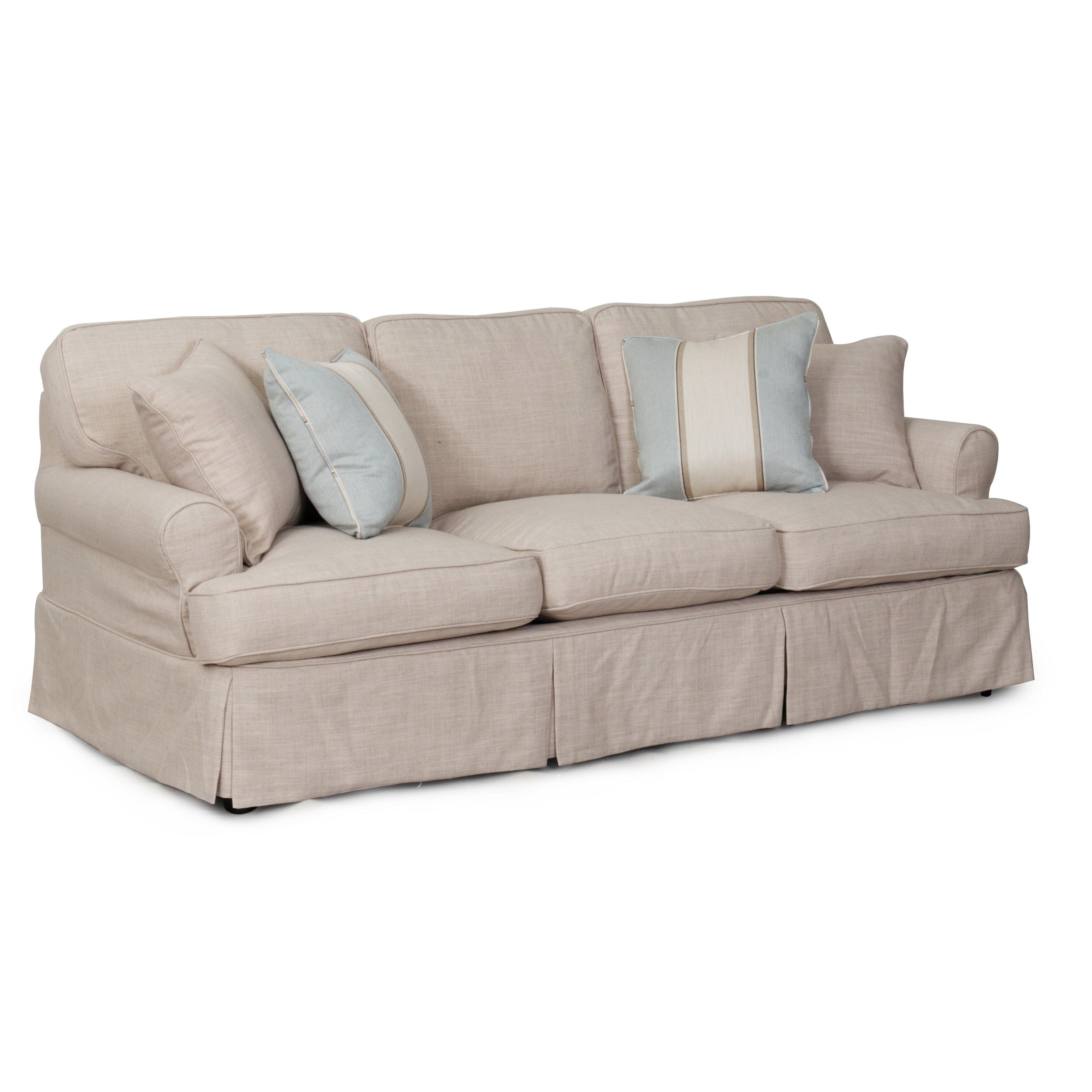 Queen Anne Camelback Sofa Slipcover Sofa