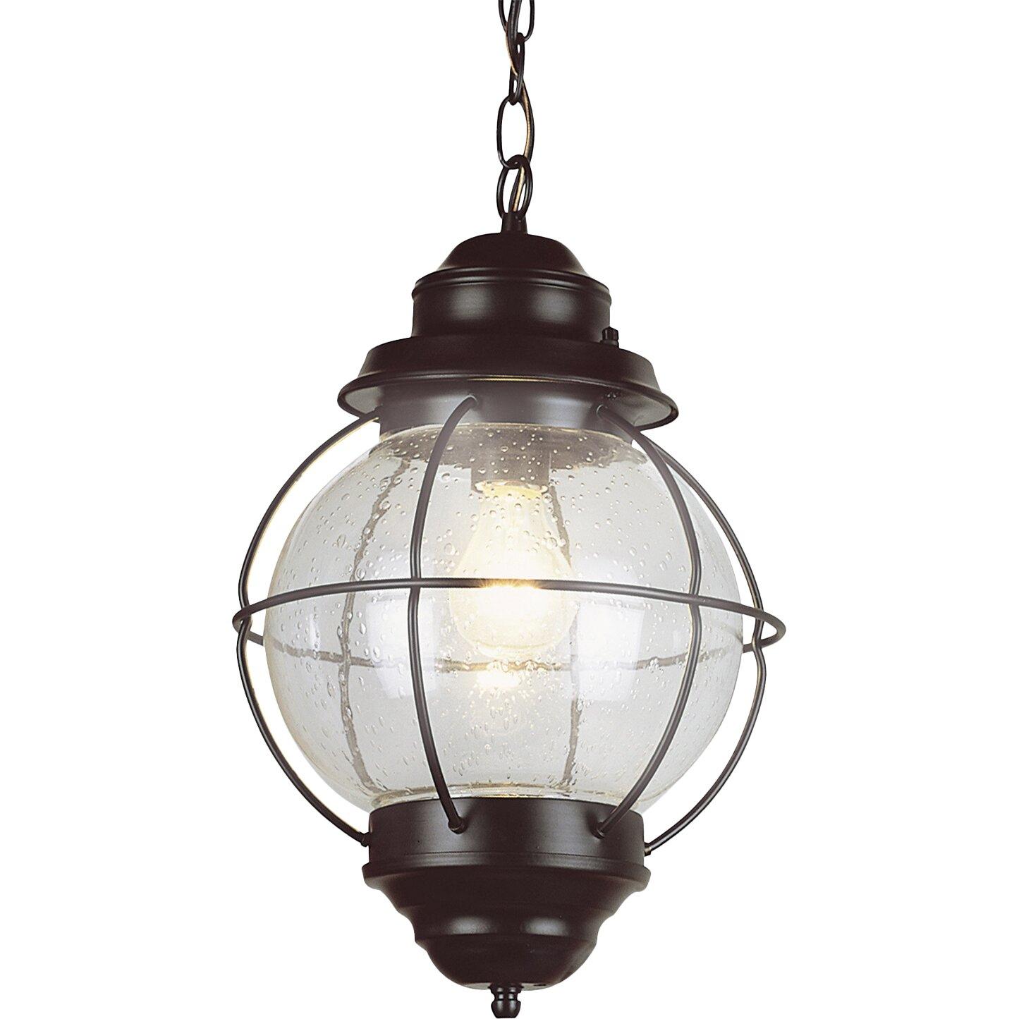 Outdoor Hanging Solar Lights Canada: Beachcrest Home Ravenwood 1-Light Outdoor Hanging Lantern