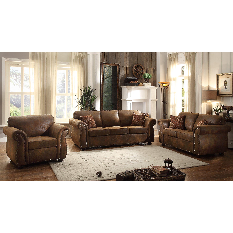 loon 3 piece living room set