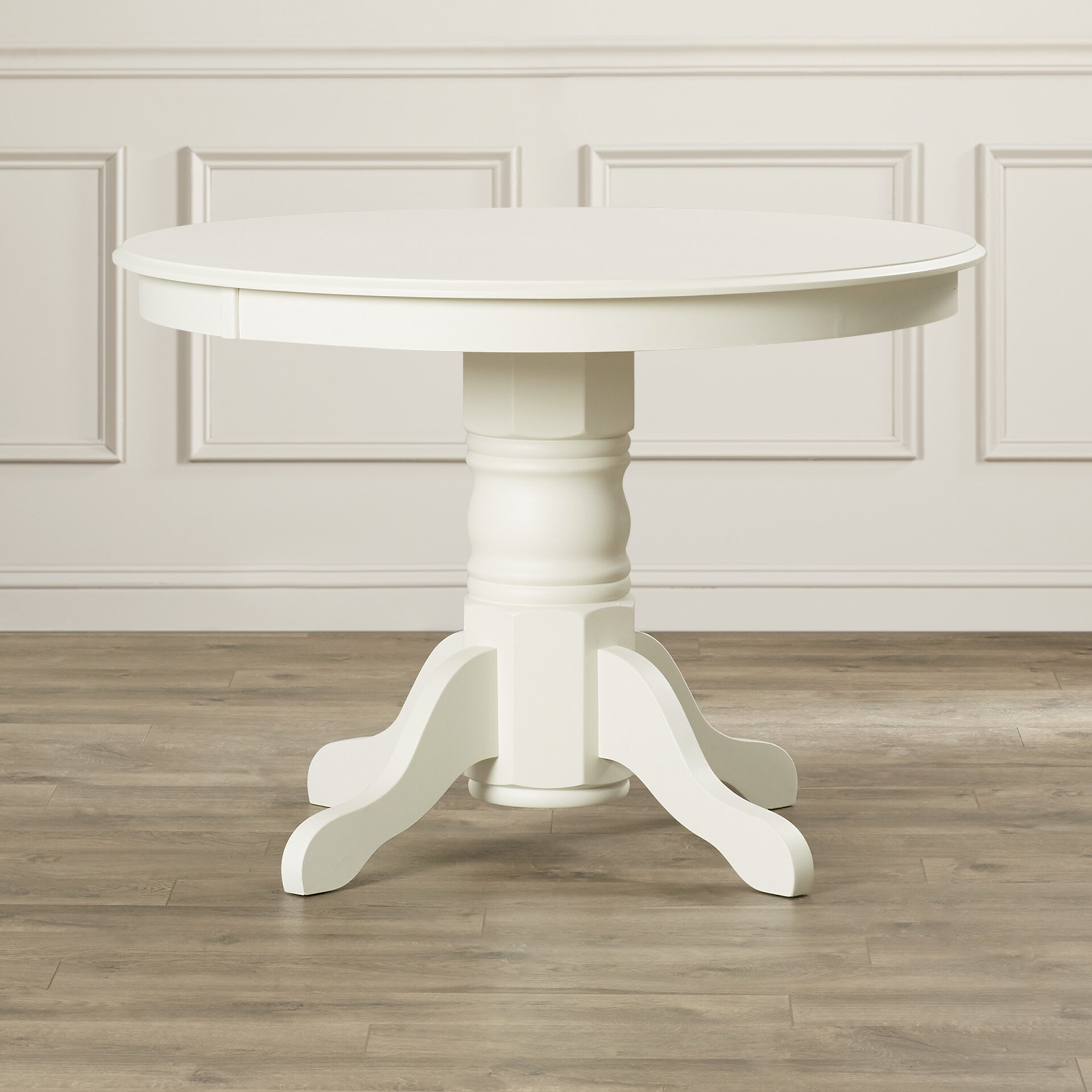 Pedestal Dining Table Loon Peak Parkerton Pedestal Dining Table Reviews Wayfair