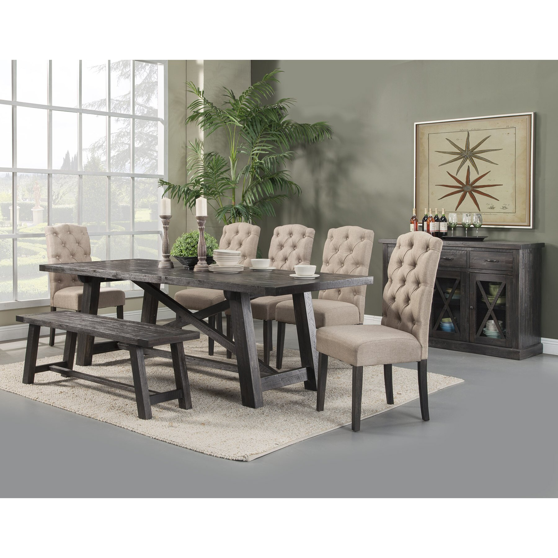Loon Peak Todd Creek Extendable Dining Table Amp Reviews