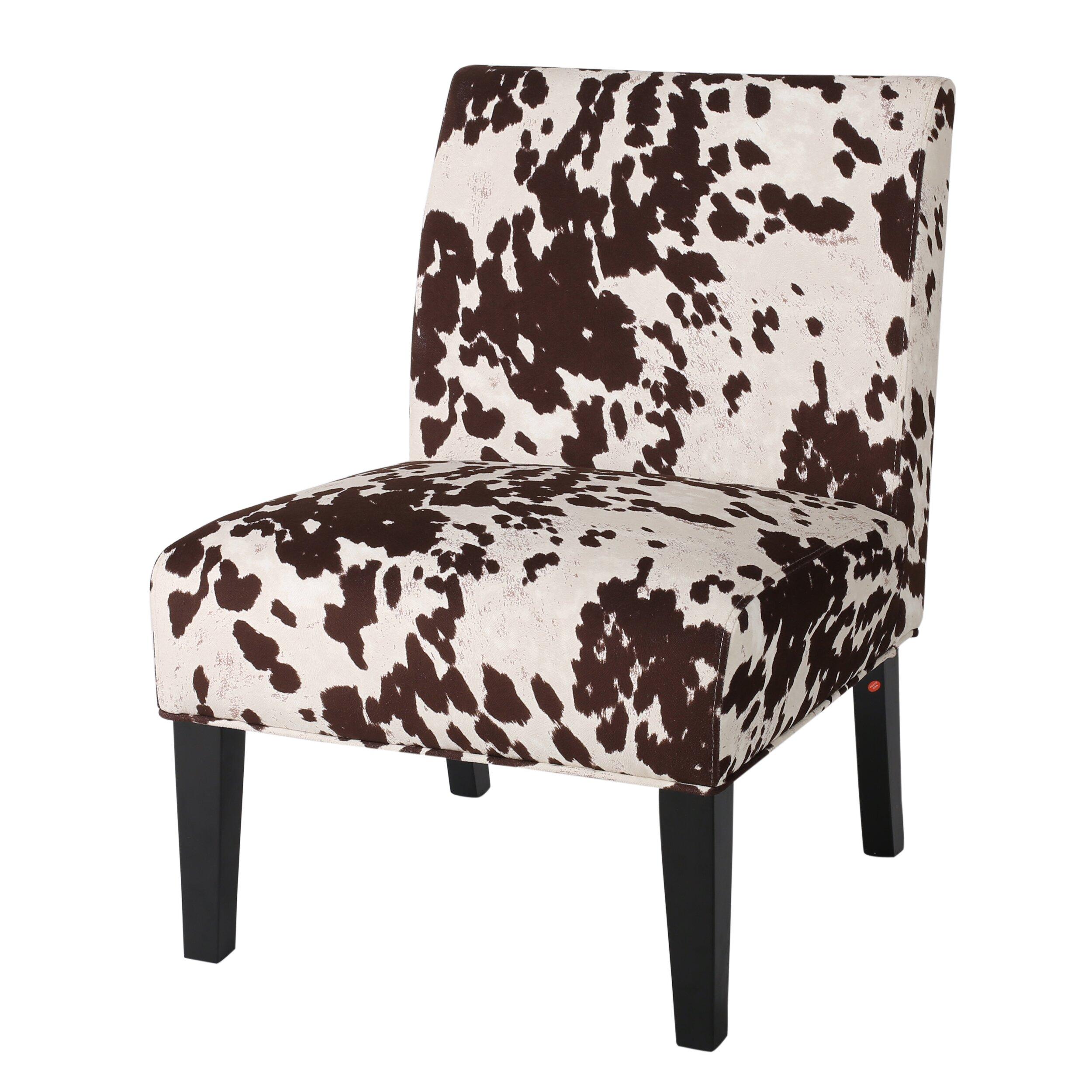 Loon Peak Masardis Milk Cow Sipper Chair Amp Reviews Wayfair