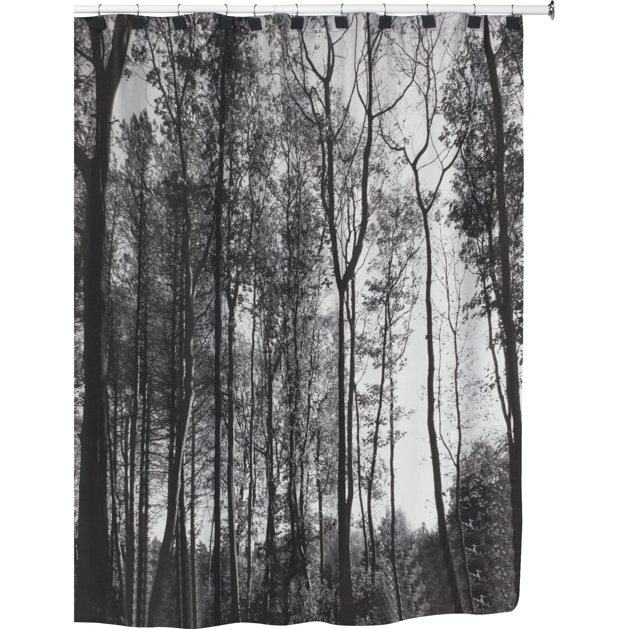 Loon Peak Granite Mountain Shower Curtain  Reviews Wayfair - Shower curtain
