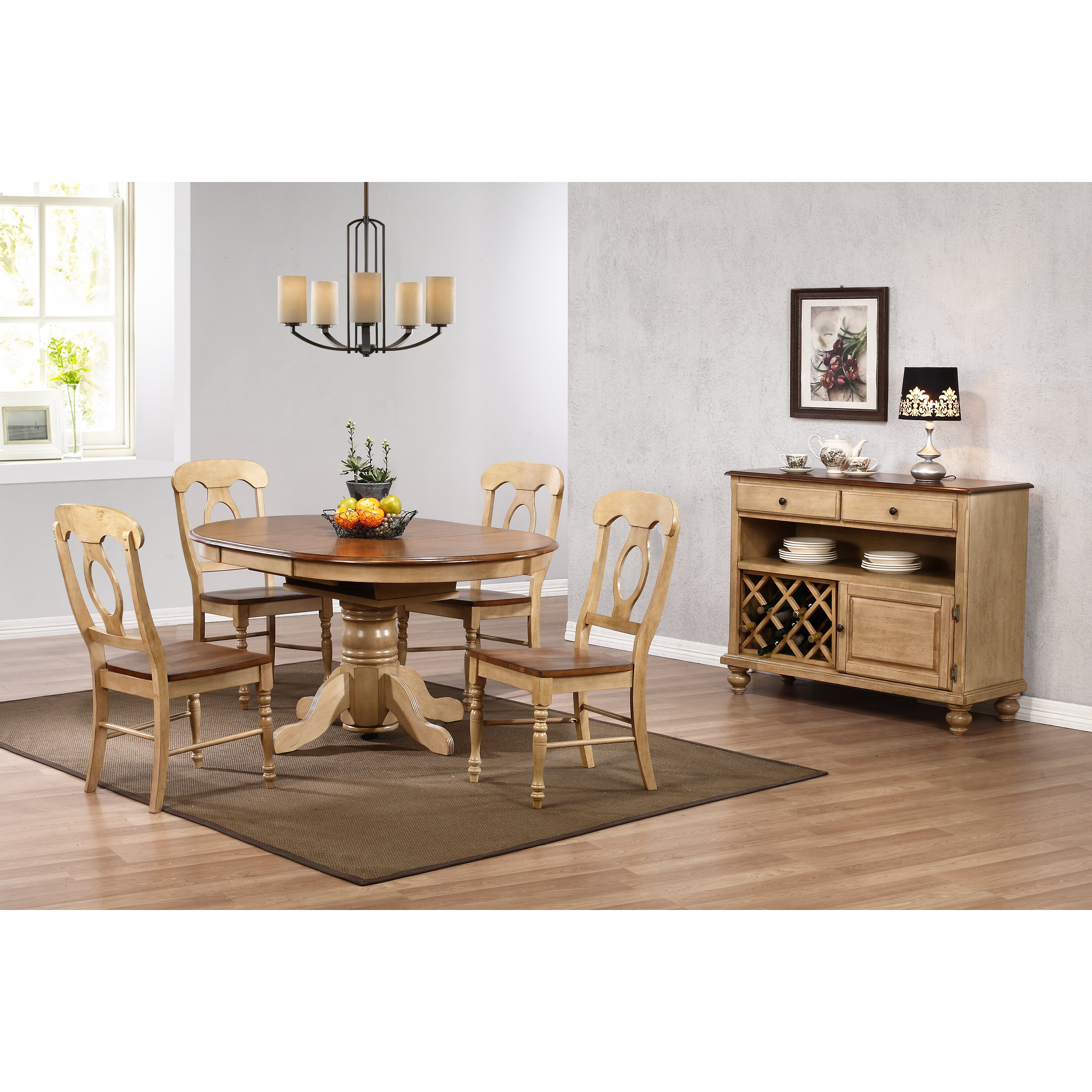 Loon Peak Agrihan Extendable Dining Table Amp Reviews Wayfair