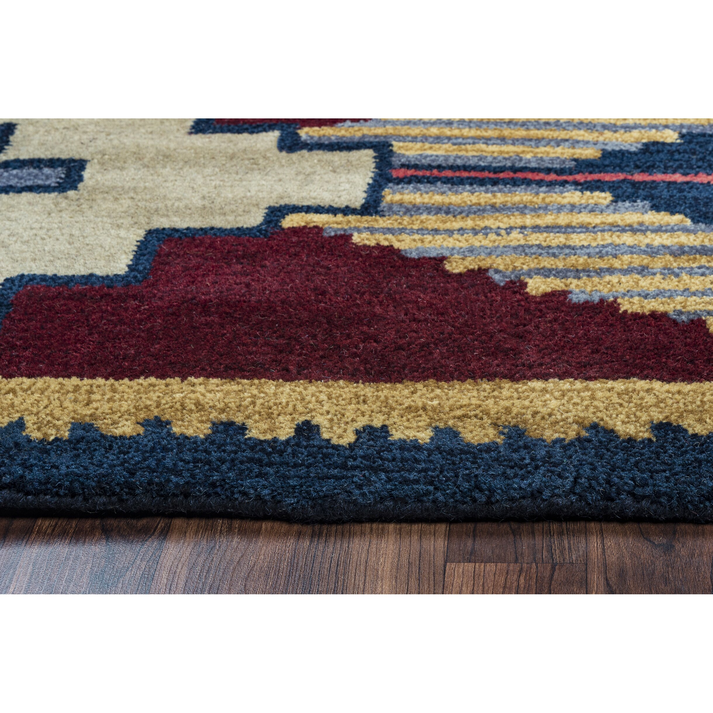 Red and blue area rug roselawnlutheran for Red and blue area rug