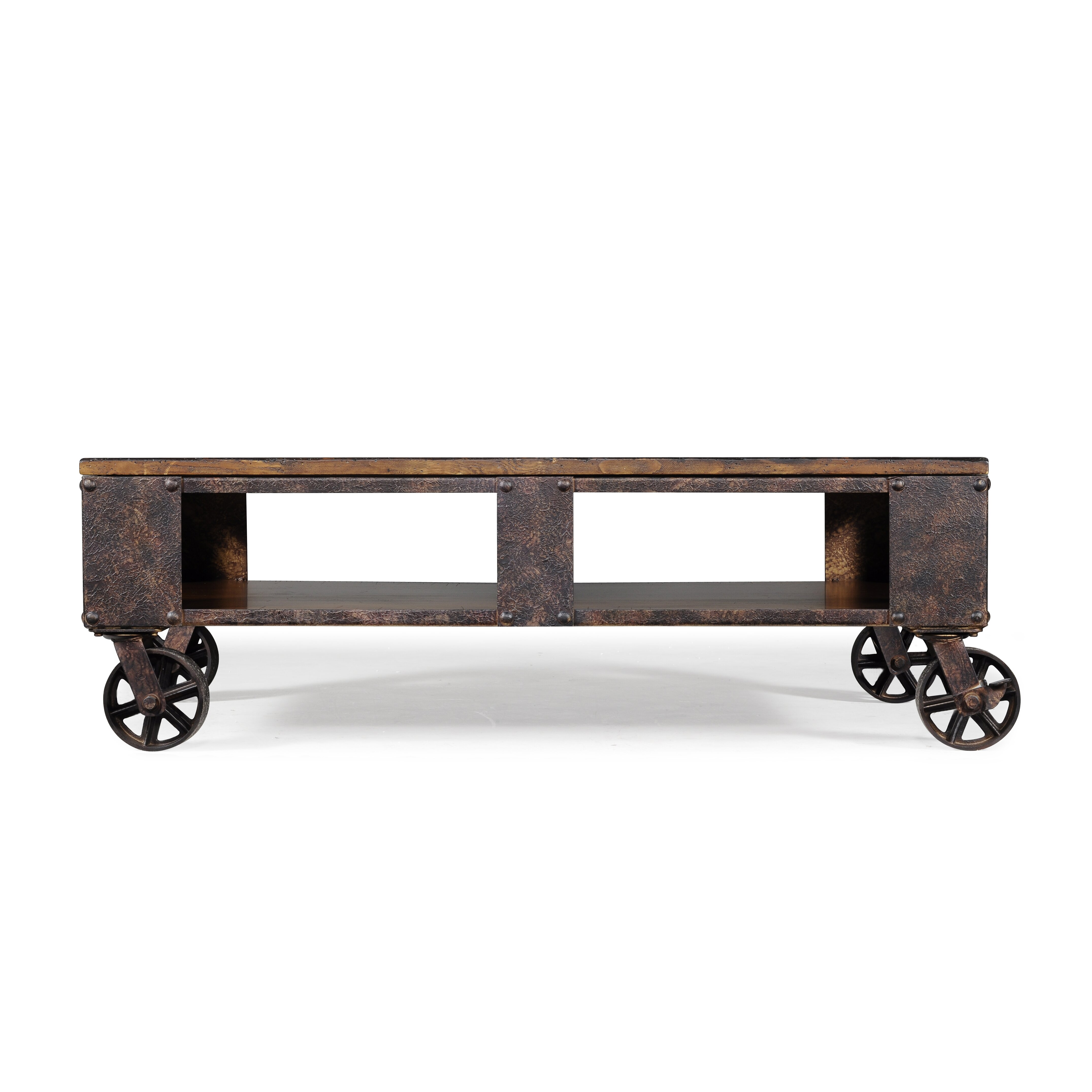 Coffee Table Industrial Industrial Coffee Tables Youll Love Wayfair