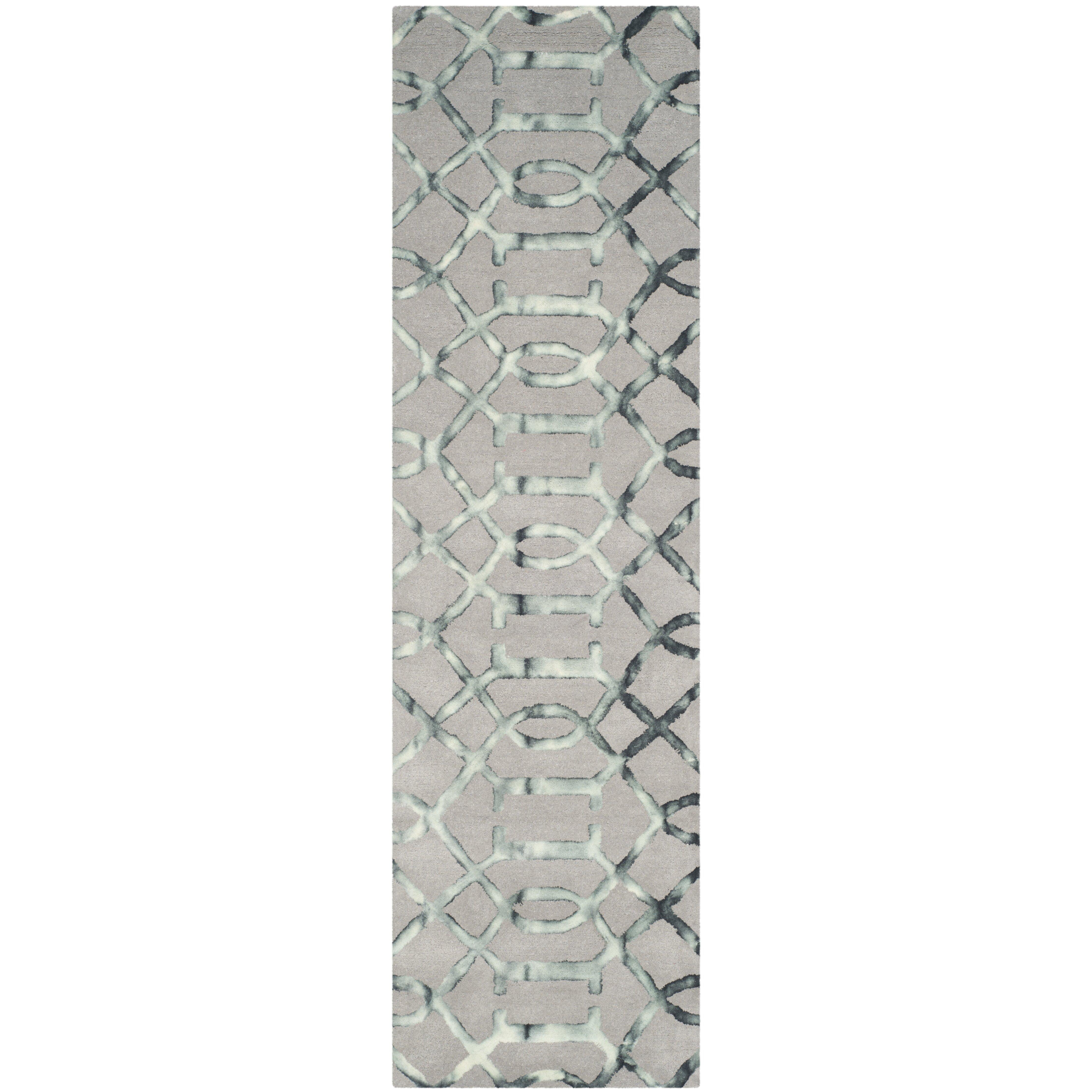 Trent Austin Design Briarwick Hand Tufted Gray Charcoal