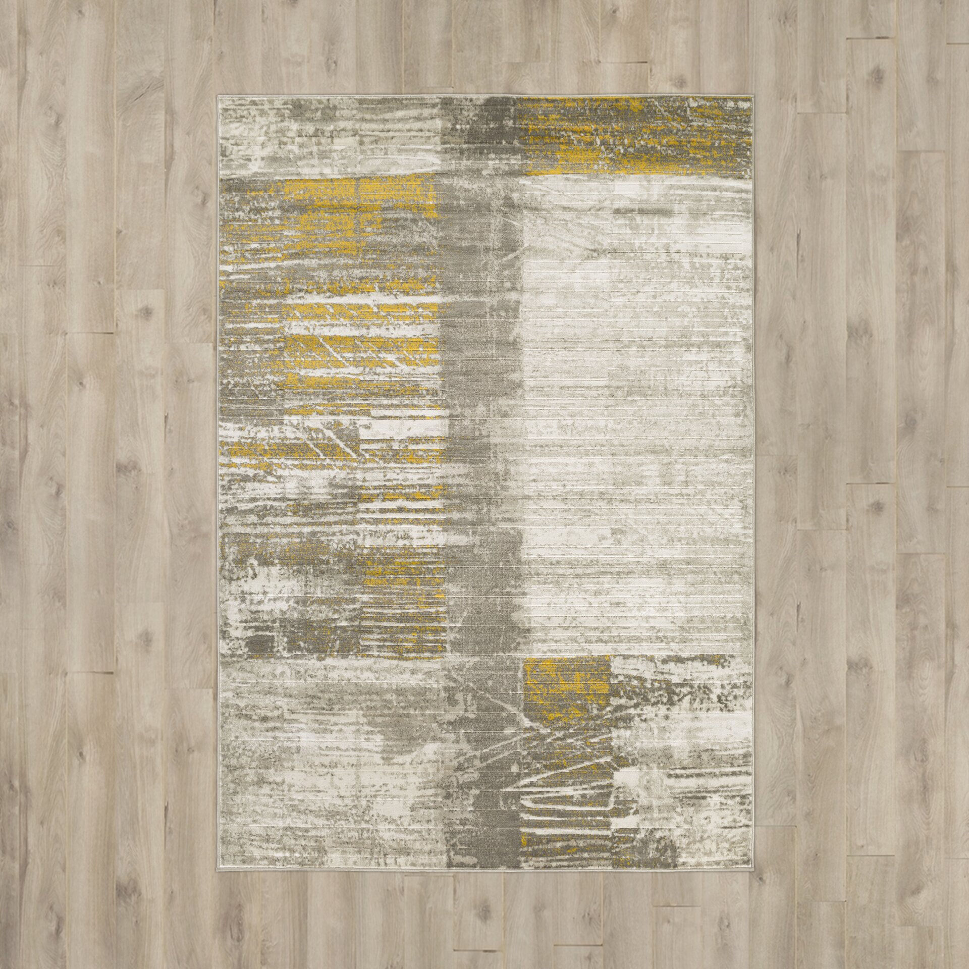 T Austin Chartwell Light Graygold Area Rug