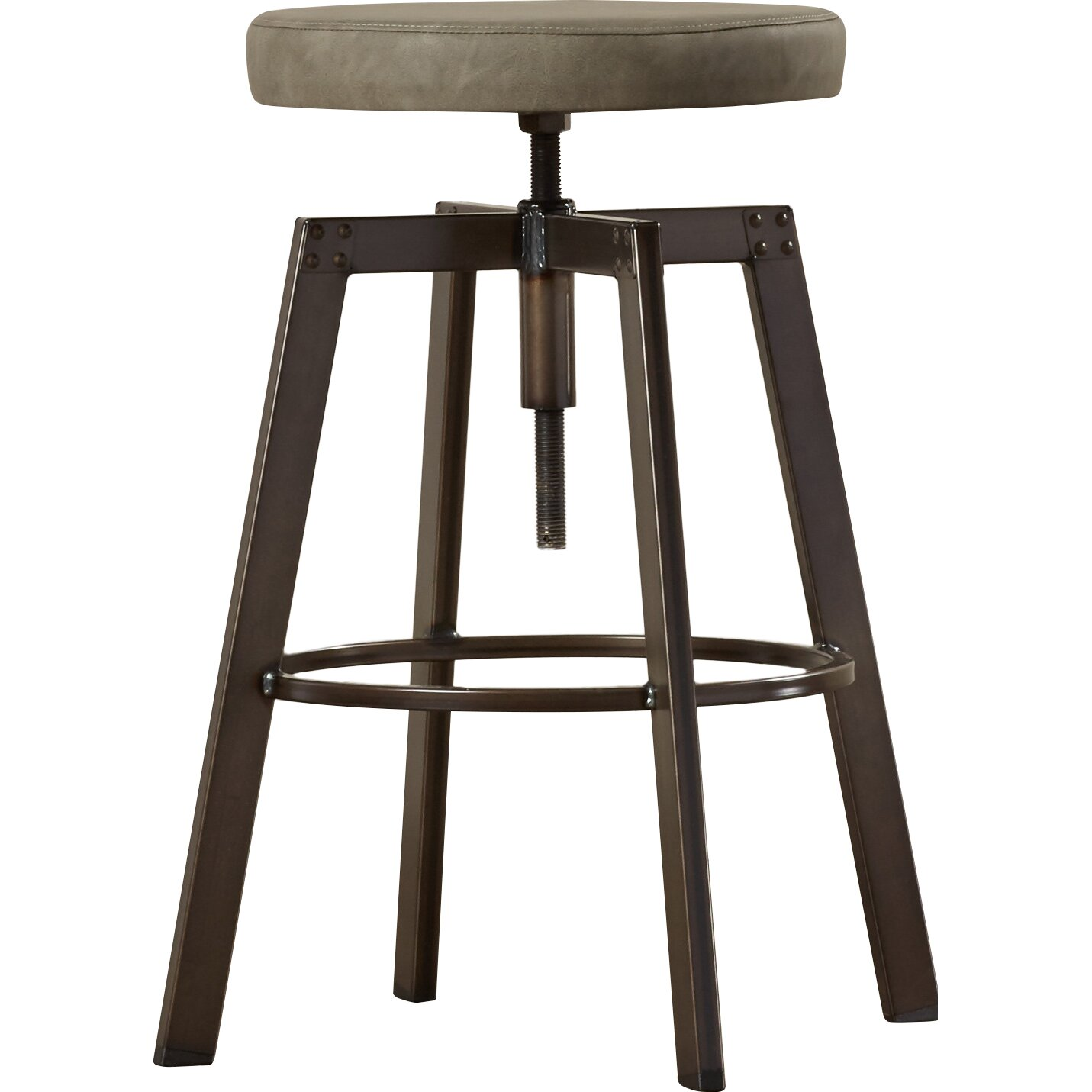 #382F27 Trent Austin Design Chasewych Adjustable Height Bar Stool Wayfair with 1431x1431 px of Recommended Tall Bar Bench 14311431 save image @ avoidforclosure.info