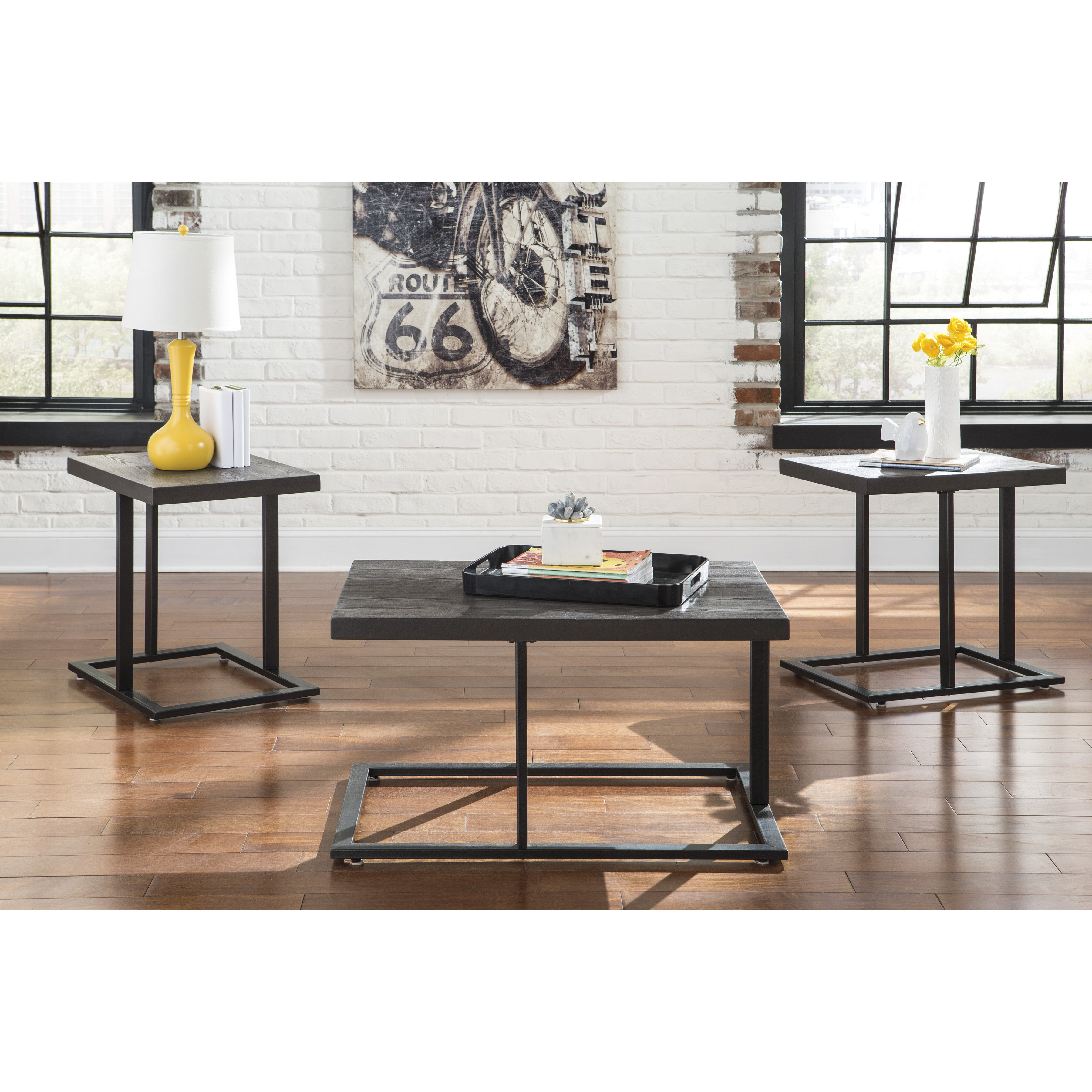 Coffee Table Set Of 3 Trent Austin Design Airdon 3 Piece Coffee Table Set Reviews
