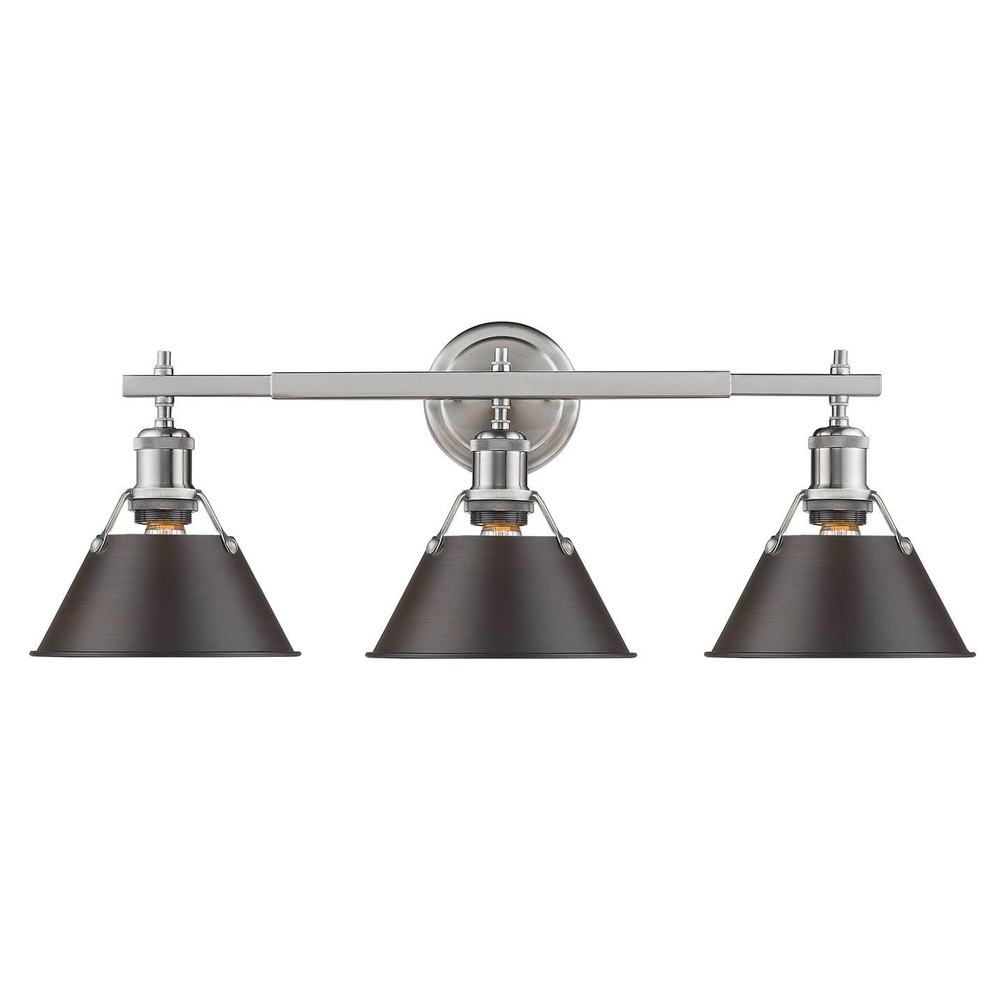 Trent Austin Design Weatherford 3 Light Vanity Light