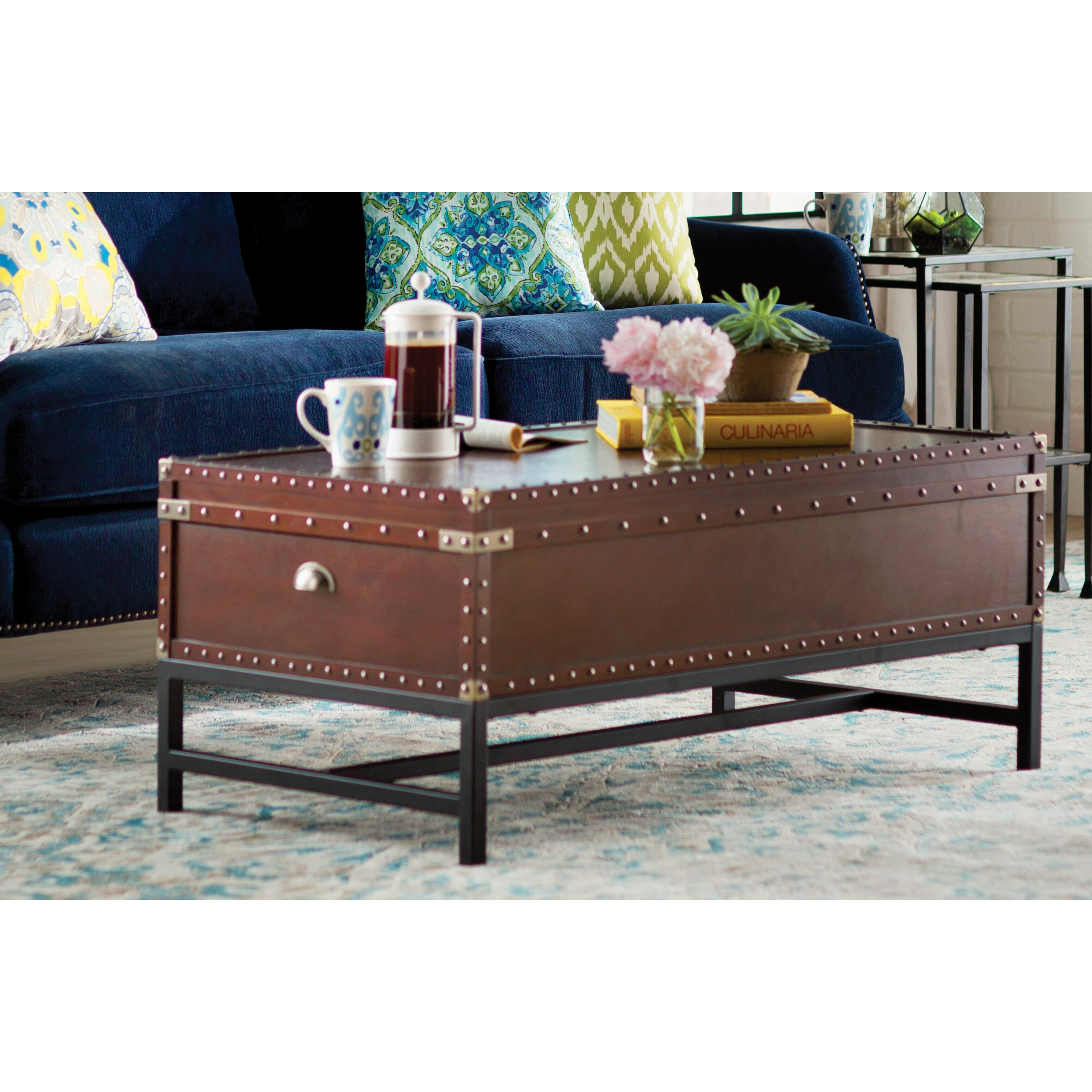 Ludlow Trunk Coffee Table Instacoffeetable