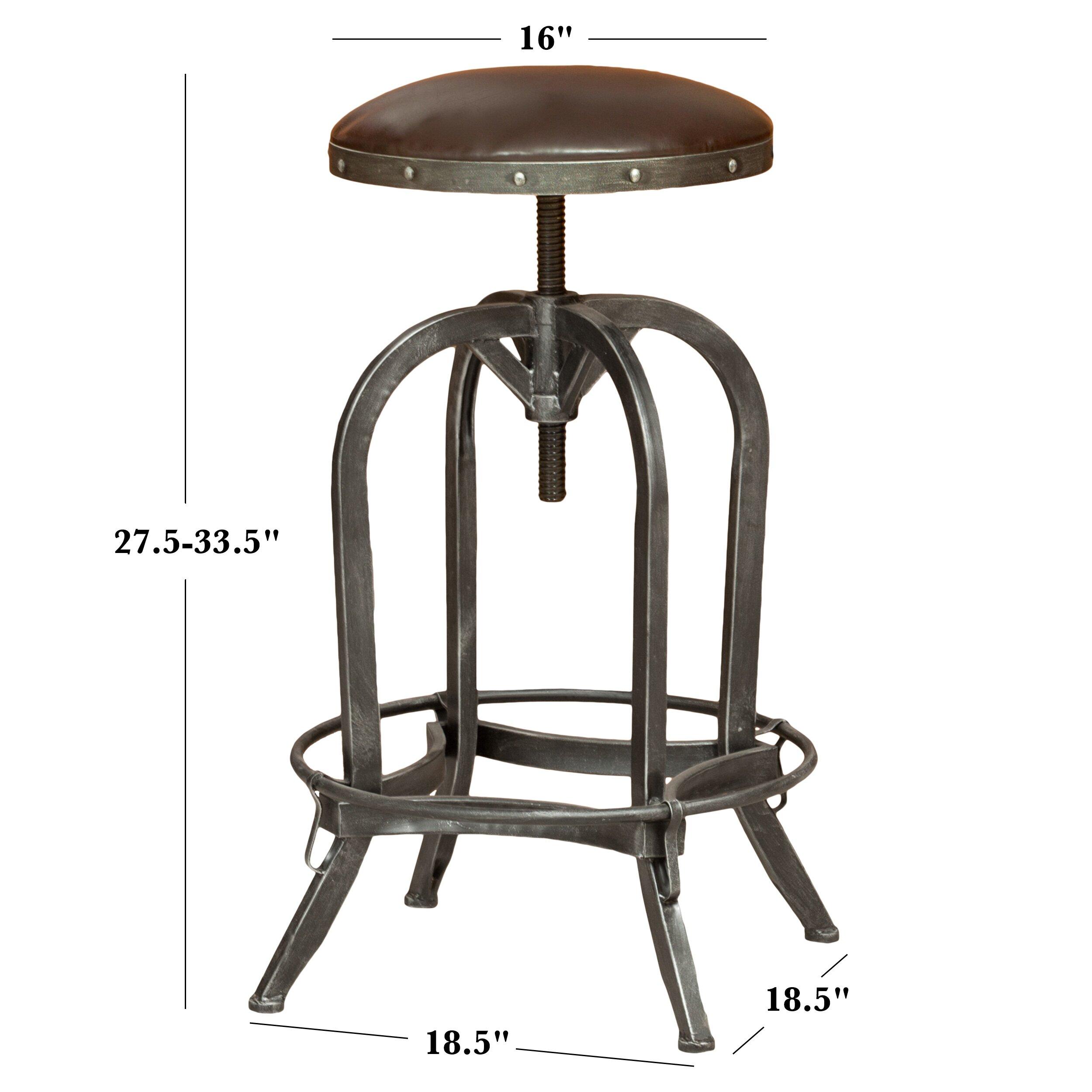Trent Austin Design Mira Adjustable Height Swivel Bar