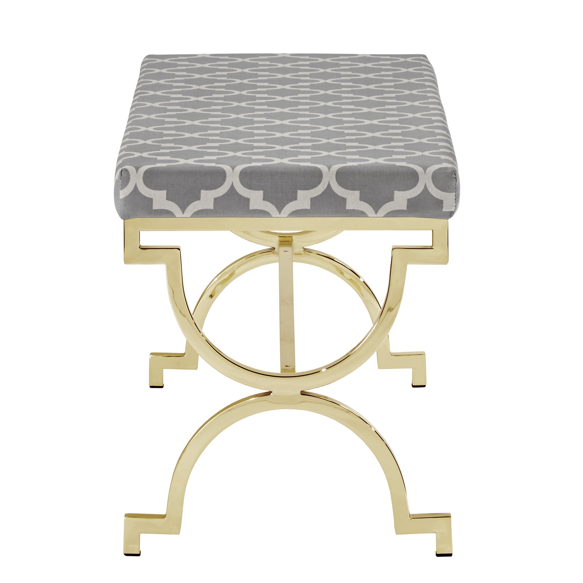 Metal Bedroom Bench House Of Hampton Inge Metal Bedroom Bench Reviews Wayfair
