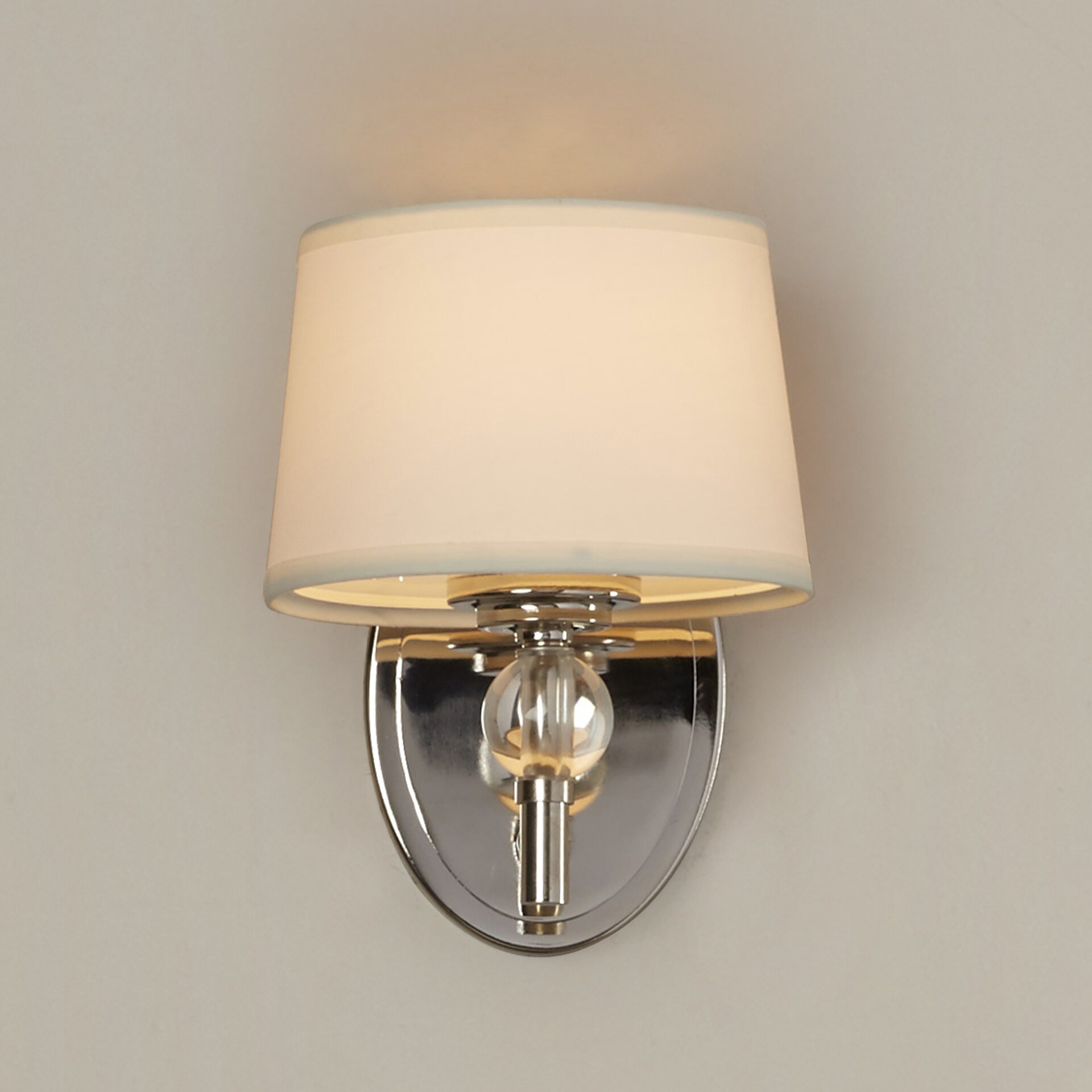Wall Sconce With Crystal Ball : House of Hampton Gus Crystal Ball 1-Light Wall Sconce & Reviews Wayfair