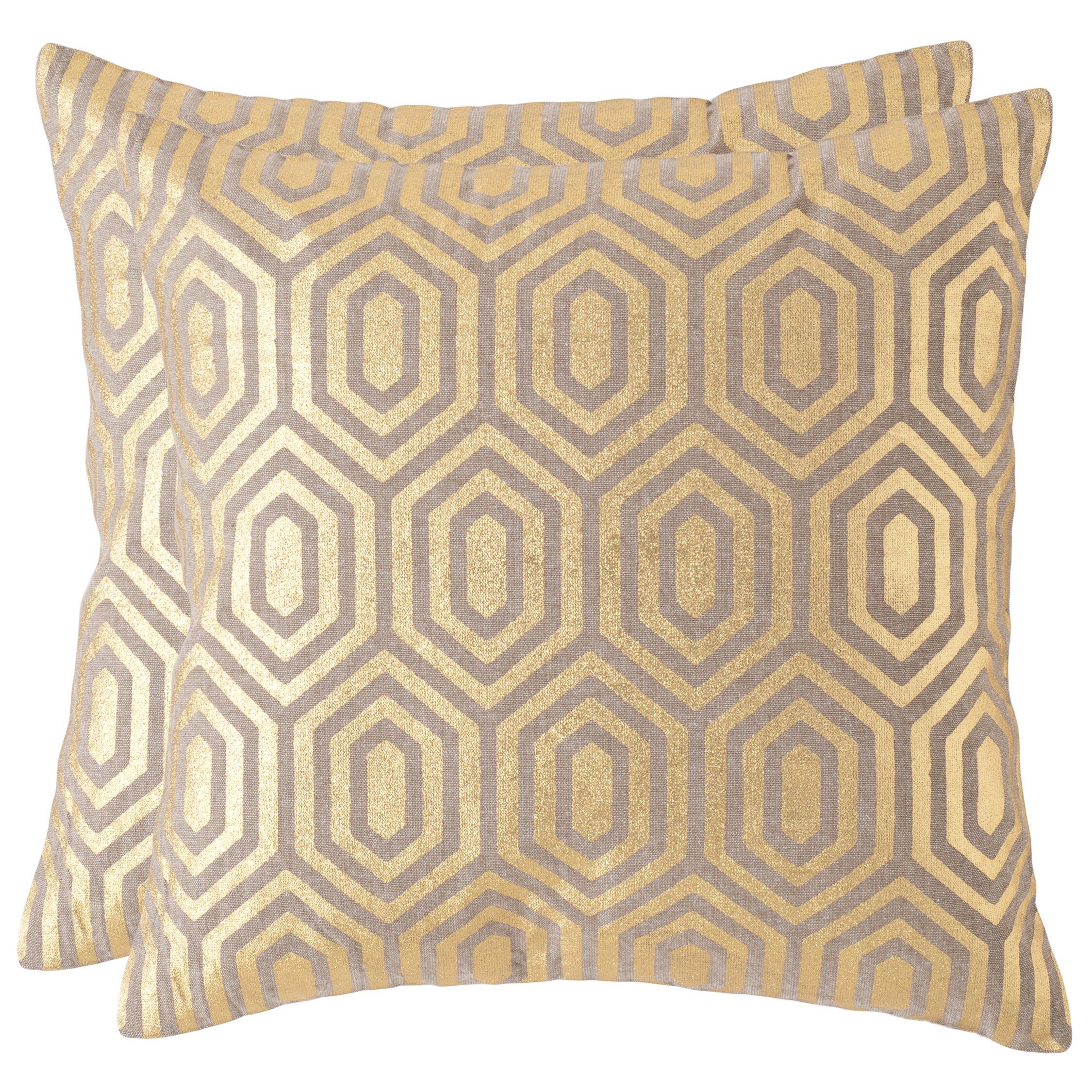 Roberdeau Linen Throw Pillow & Reviews AllModern