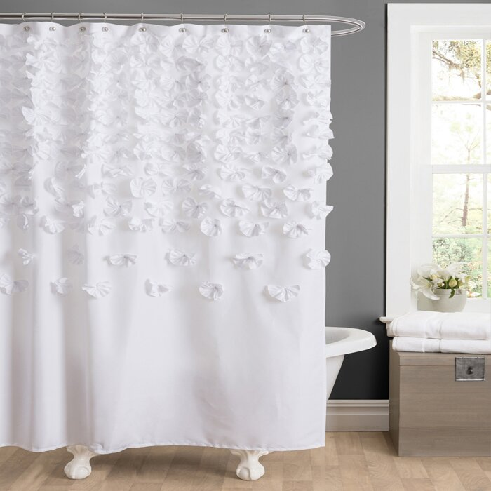Lovely Spa Like Shower Curtains #13: House Of Hamptonu0026reg; Brunswick Shower Curtain