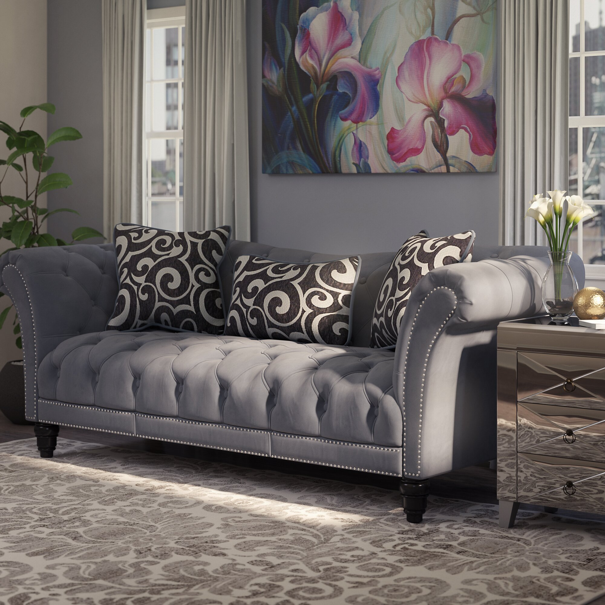 Country Style Loveseats Hottest Home Design