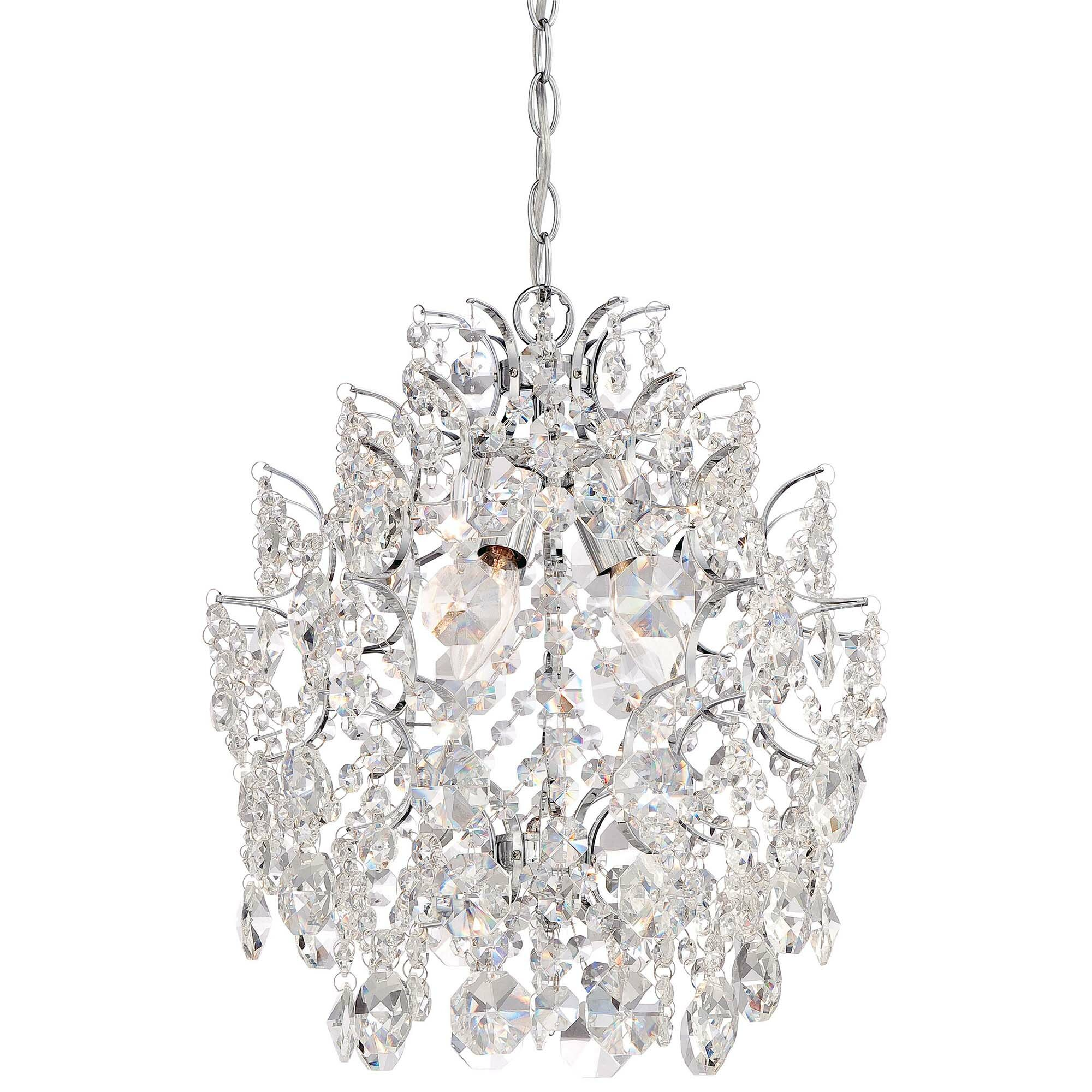 Mini or Small Chandeliers Youll Love – Crystal Mini Chandeliers
