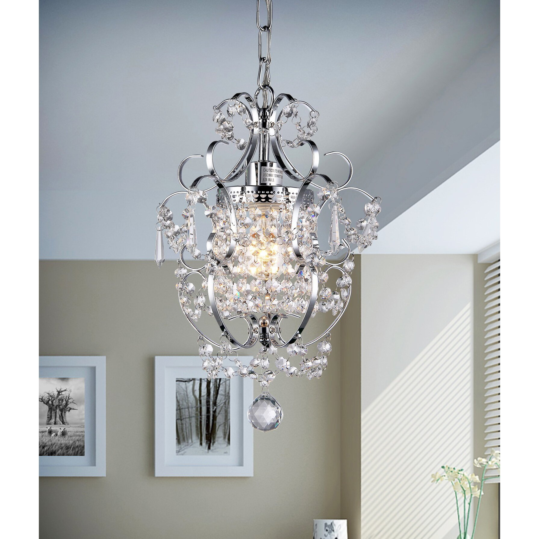 Small Chandeliers For Bedroom Kids Chandeliers Youll Love Wayfair